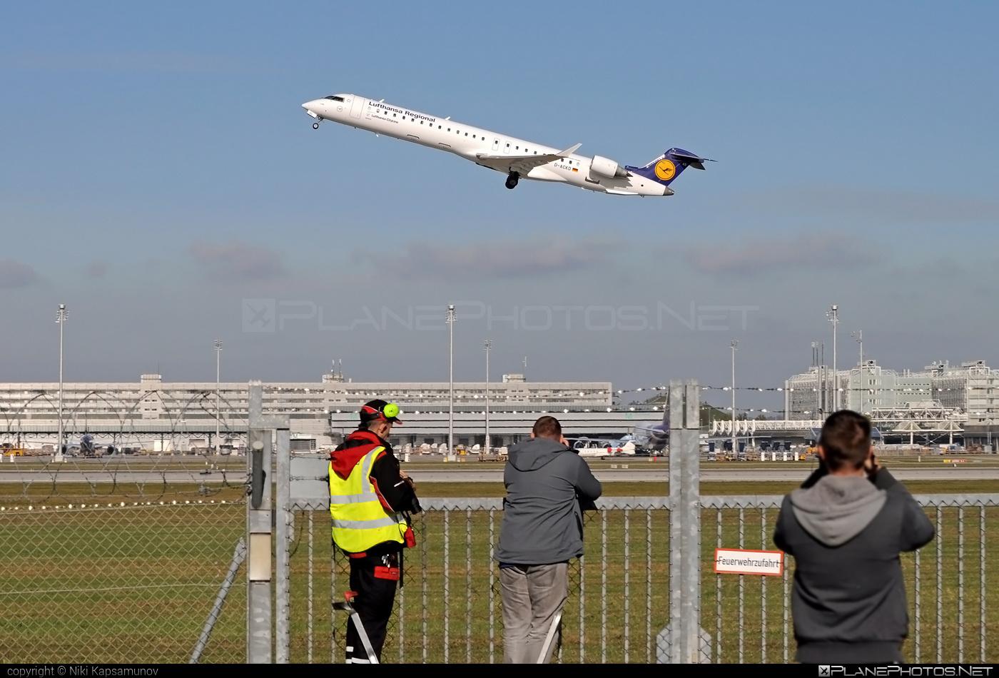 Bombardier CRJ900LR - D-ACKD operated by Lufthansa Regional (CityLine) #bombardier #crj900 #crj900lr