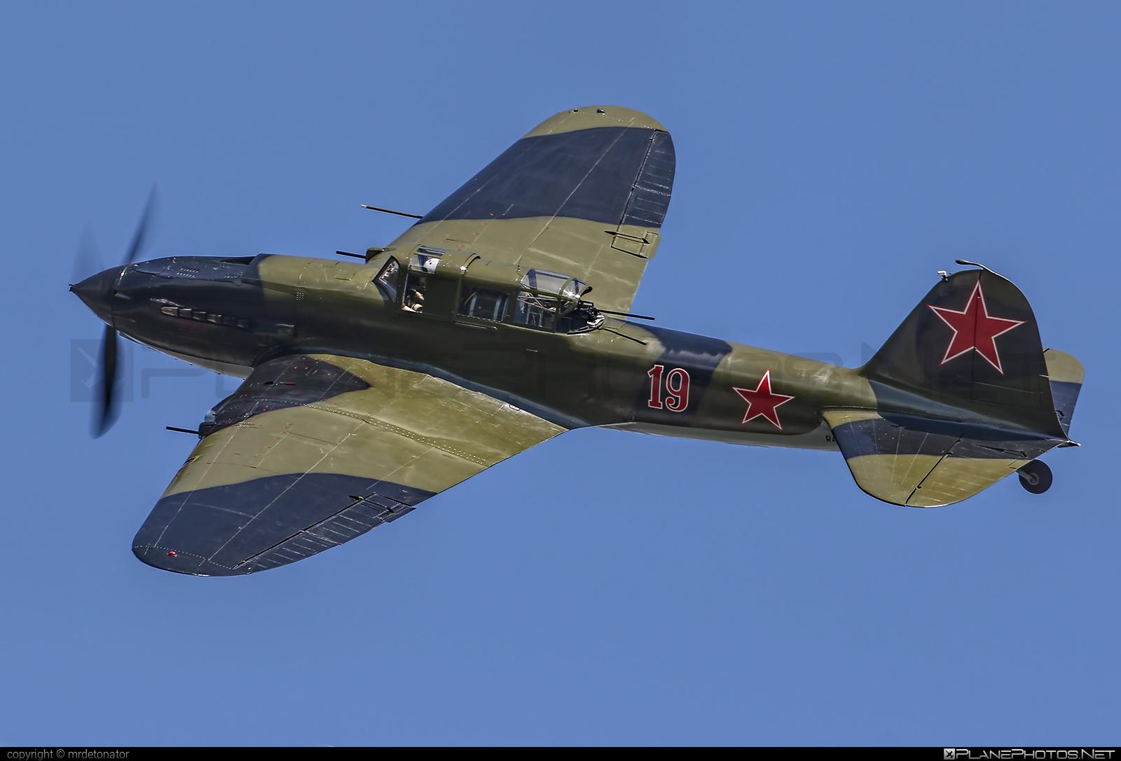 Ilyushin Il-2 Sturmovik - RA-2783G operated by Siberian Aeronautical Research Institute (SibNIA) #il2 #ilyushin #maks2017 #shturmovik #sturmovik