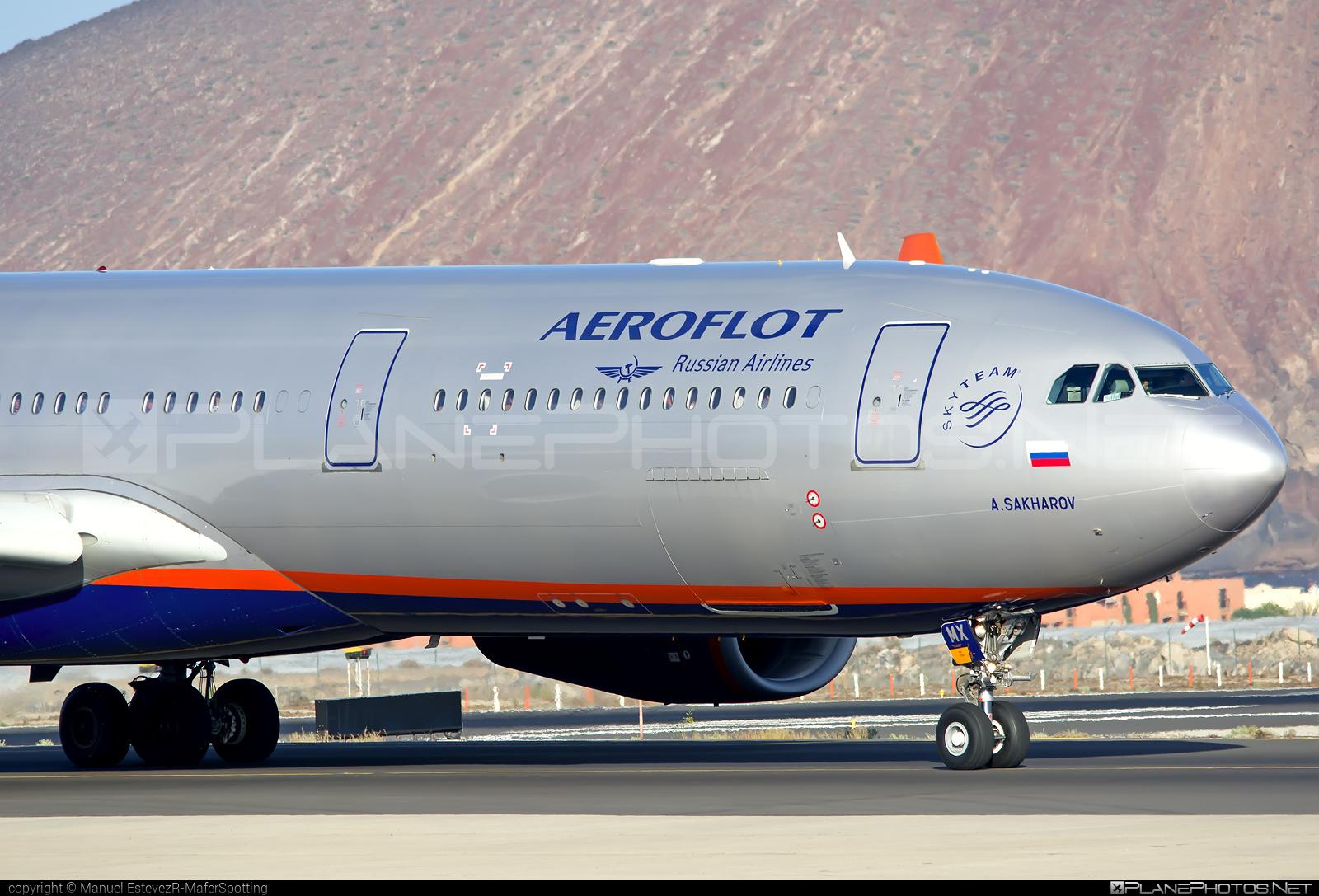 Airbus A330-343 - VQ-BMX operated by Aeroflot #a330 #a330family #aeroflot #airbus #airbus330