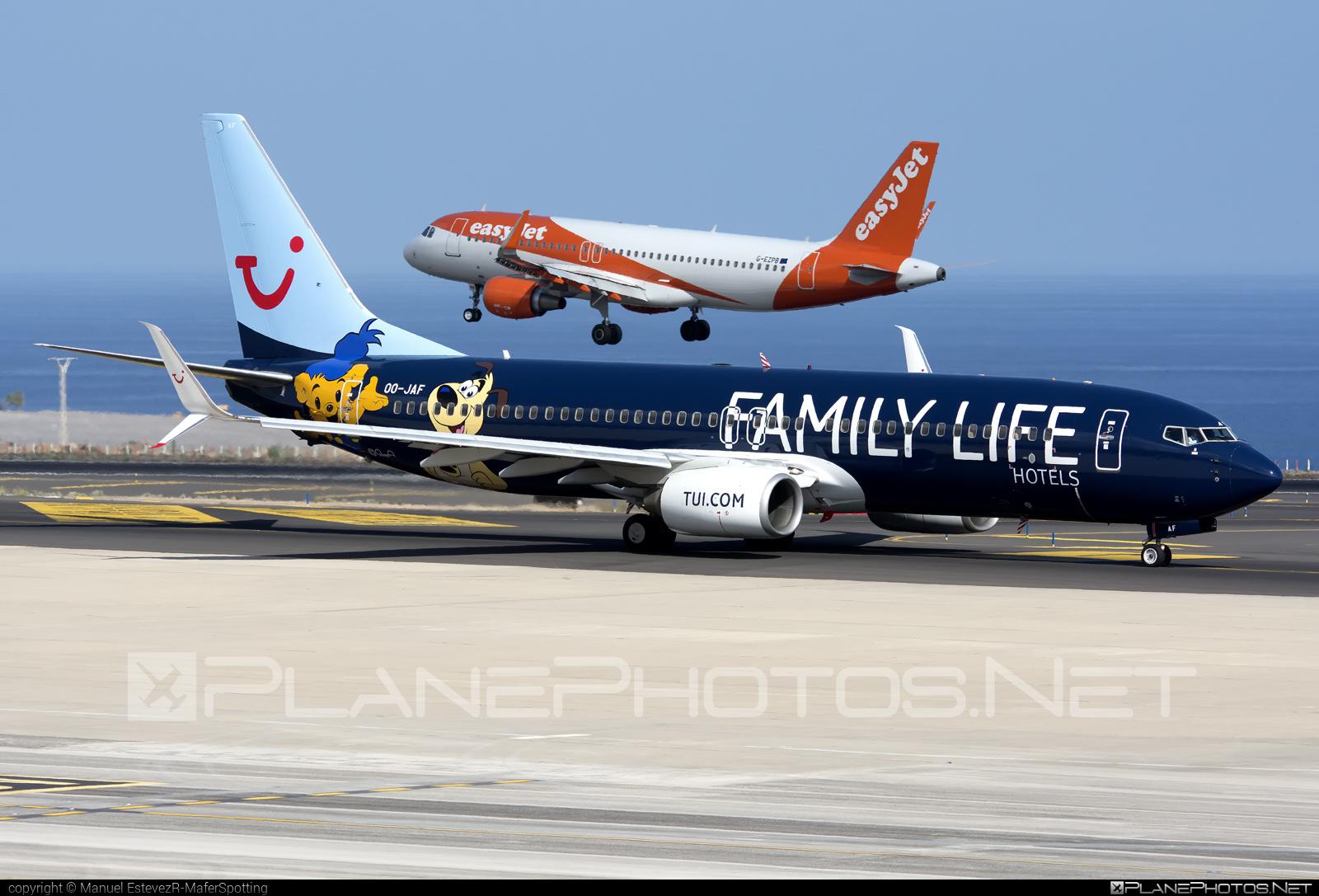 Boeing 737-800 - OO-JAF operated by TUI Airlines Belgium #b737 #b737nextgen #b737ng #boeing #boeing737 #tui #tuiairlines #tuiairlinesbelgium
