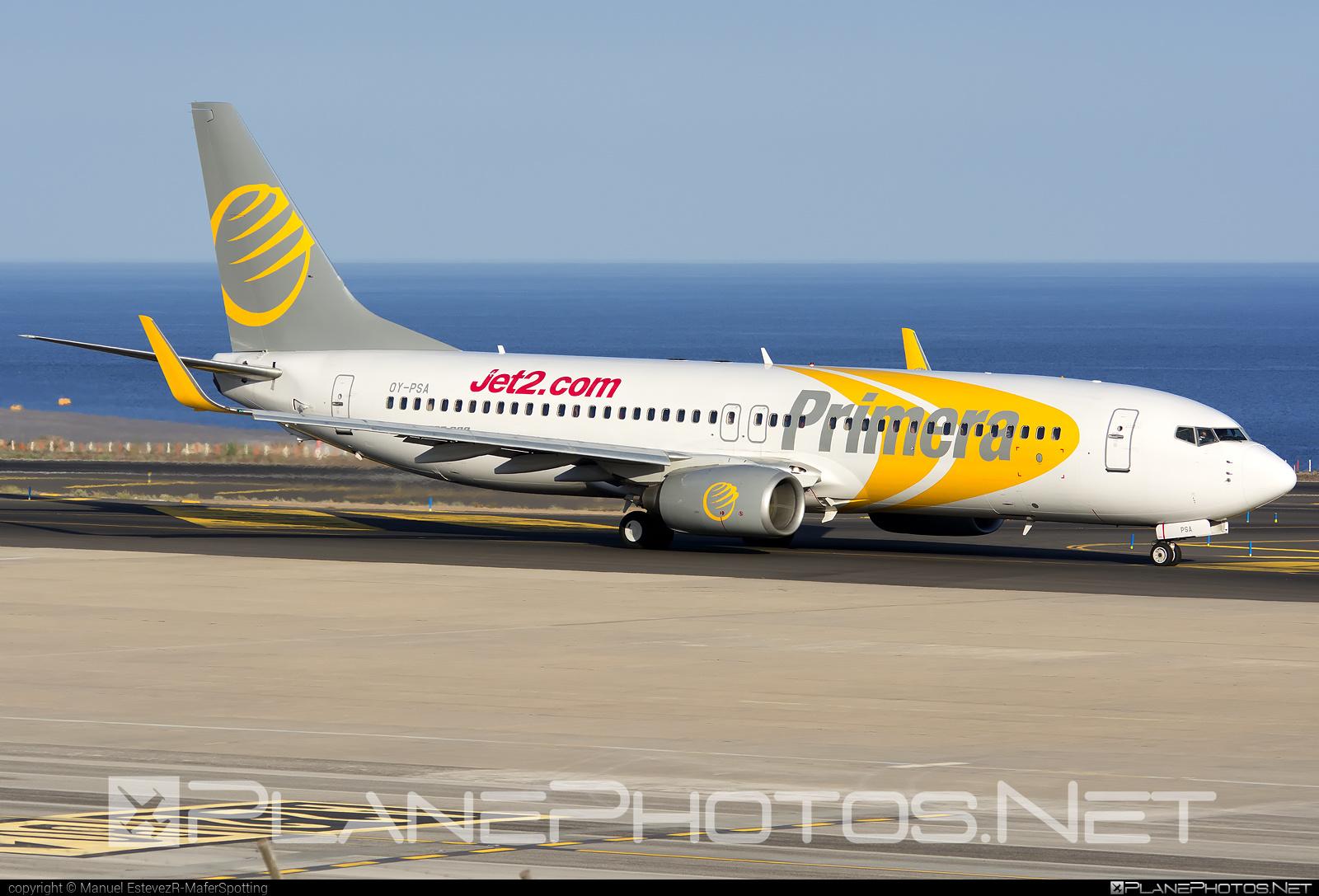 Boeing 737-800 - OY-PSA operated by Jet2 #b737 #b737nextgen #b737ng #boeing #boeing737 #jet2