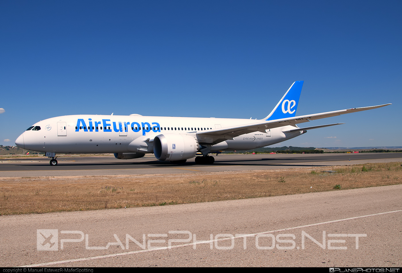 Boeing 787-8 Dreamliner - EC-MLT operated by Air Europa #b787 #boeing #boeing787 #dreamliner