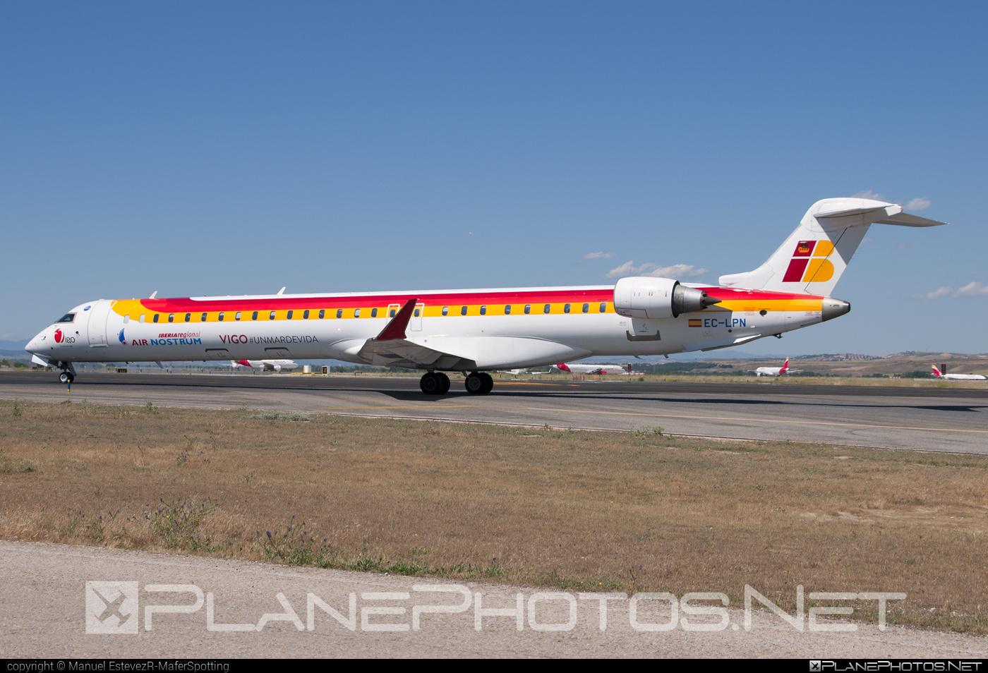 Bombardier CRJ1000 NextGen - EC-LPN operated by Iberia Regional (Air Nostrum) #airnostrum #bombardier #crj1000 #crj1000nextgen #crj1000ng #iberia #iberiaregional