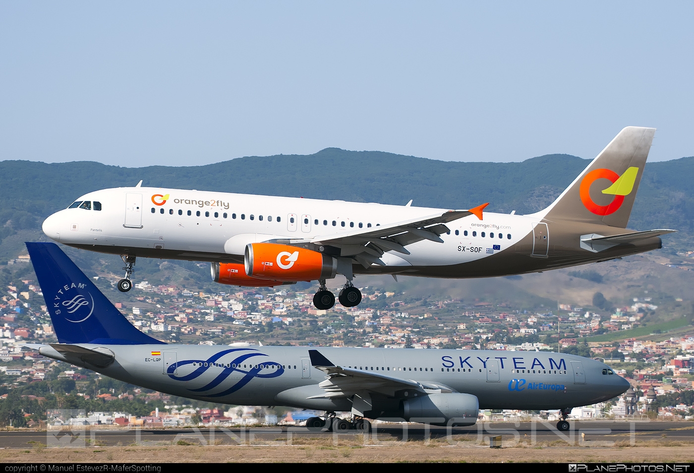 Airbus A320-232 - SX-SOF operated by orange2fly #a320 #a320family #airbus #airbus320