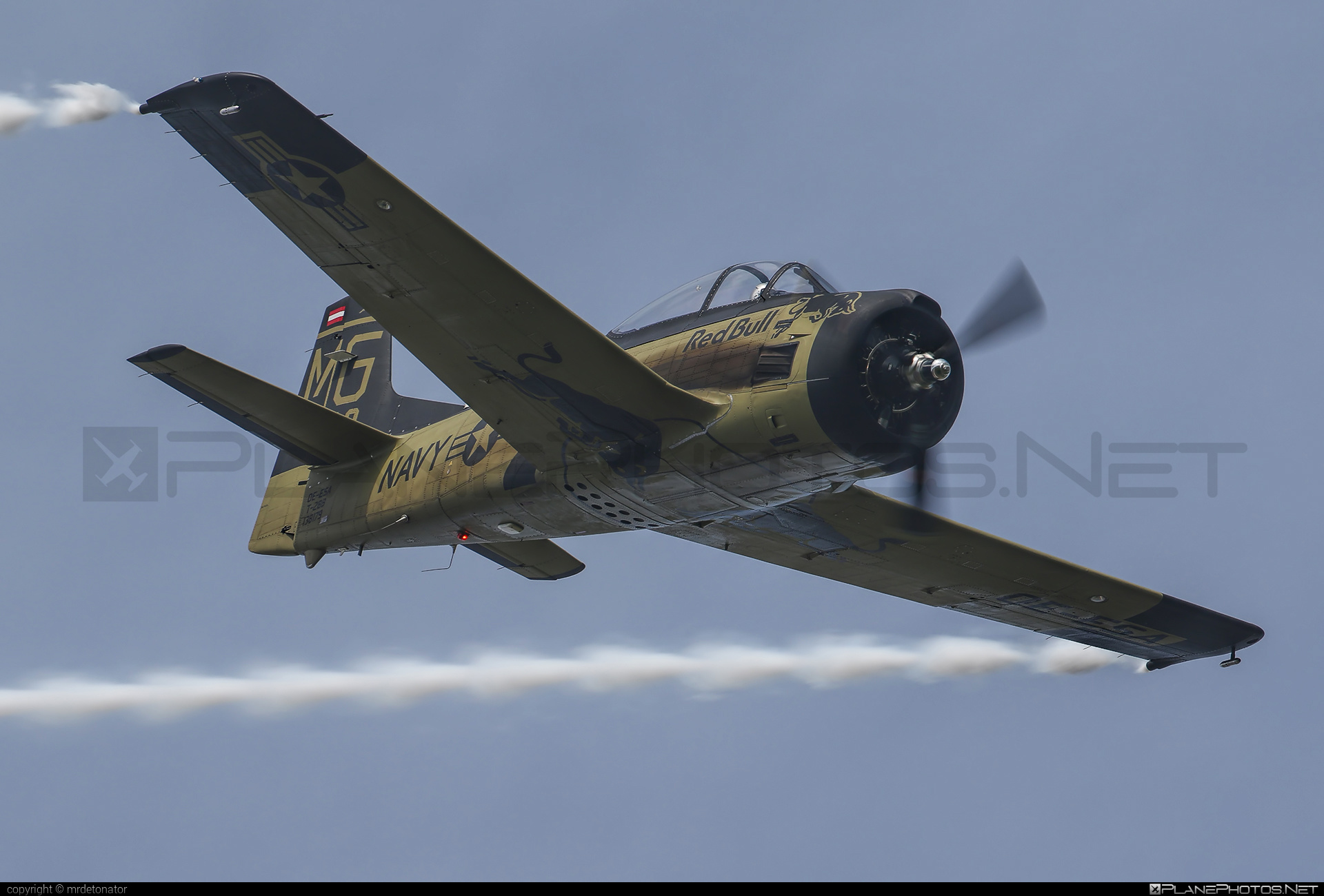 North American T-28B Trojan - OE-ESA operated by The Flying Bulls #northamerican #theflyingbulls
