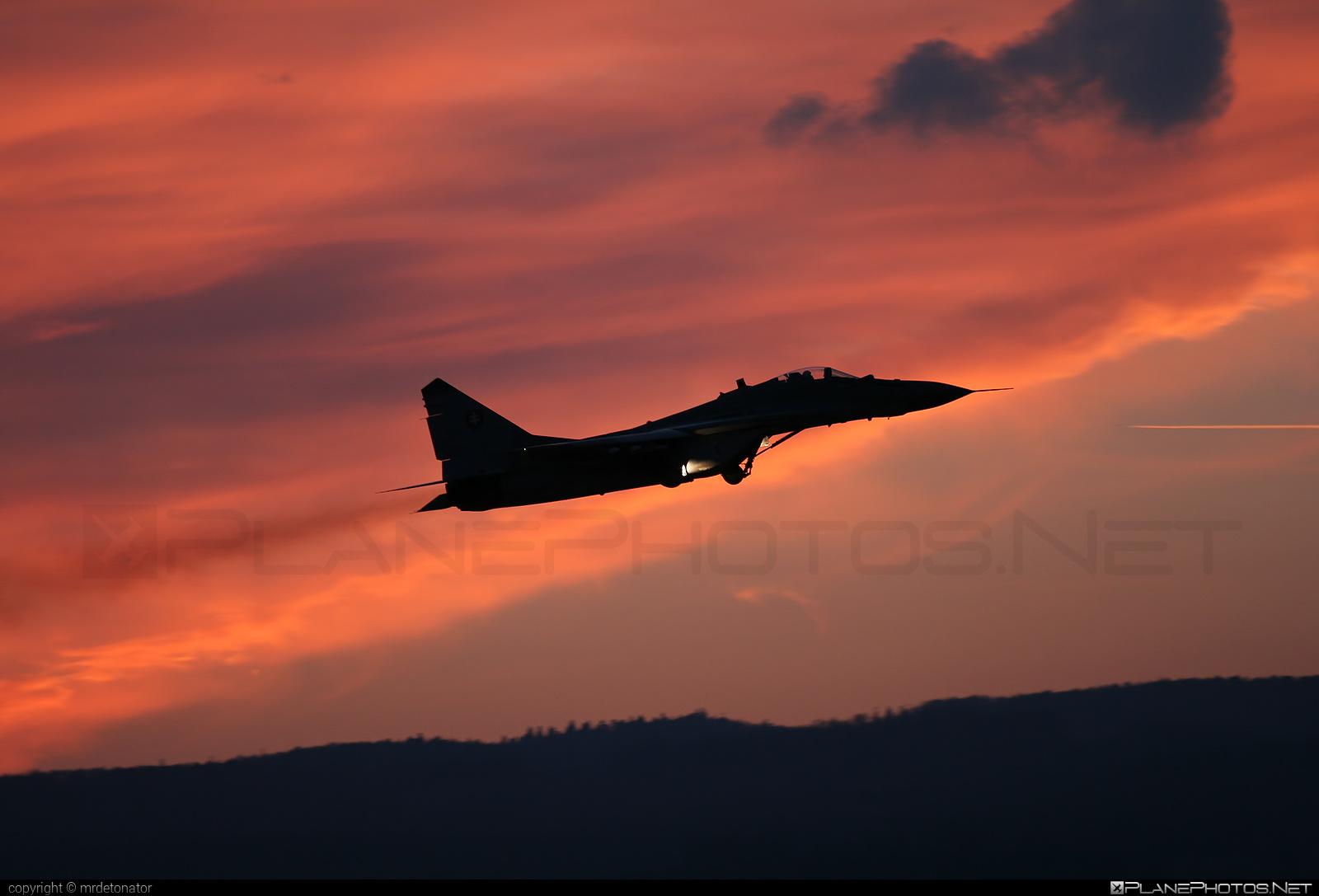 Vzdušné sily OS SR (Slovak Air Force) Mikoyan-Gurevich MiG-29AS - 6124 #mig #mig29 #mig29as #mikoyangurevich #slovakairforce #vzdusnesilyossr