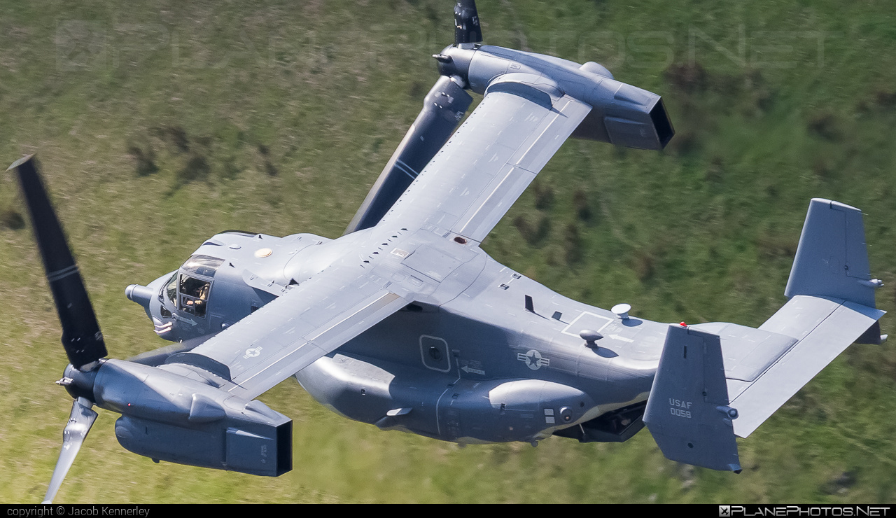 Bell Boeing CV-22B Osprey - 11-0058 operated by US Air Force (USAF) #bellboeing #machloop #usaf #usairforce