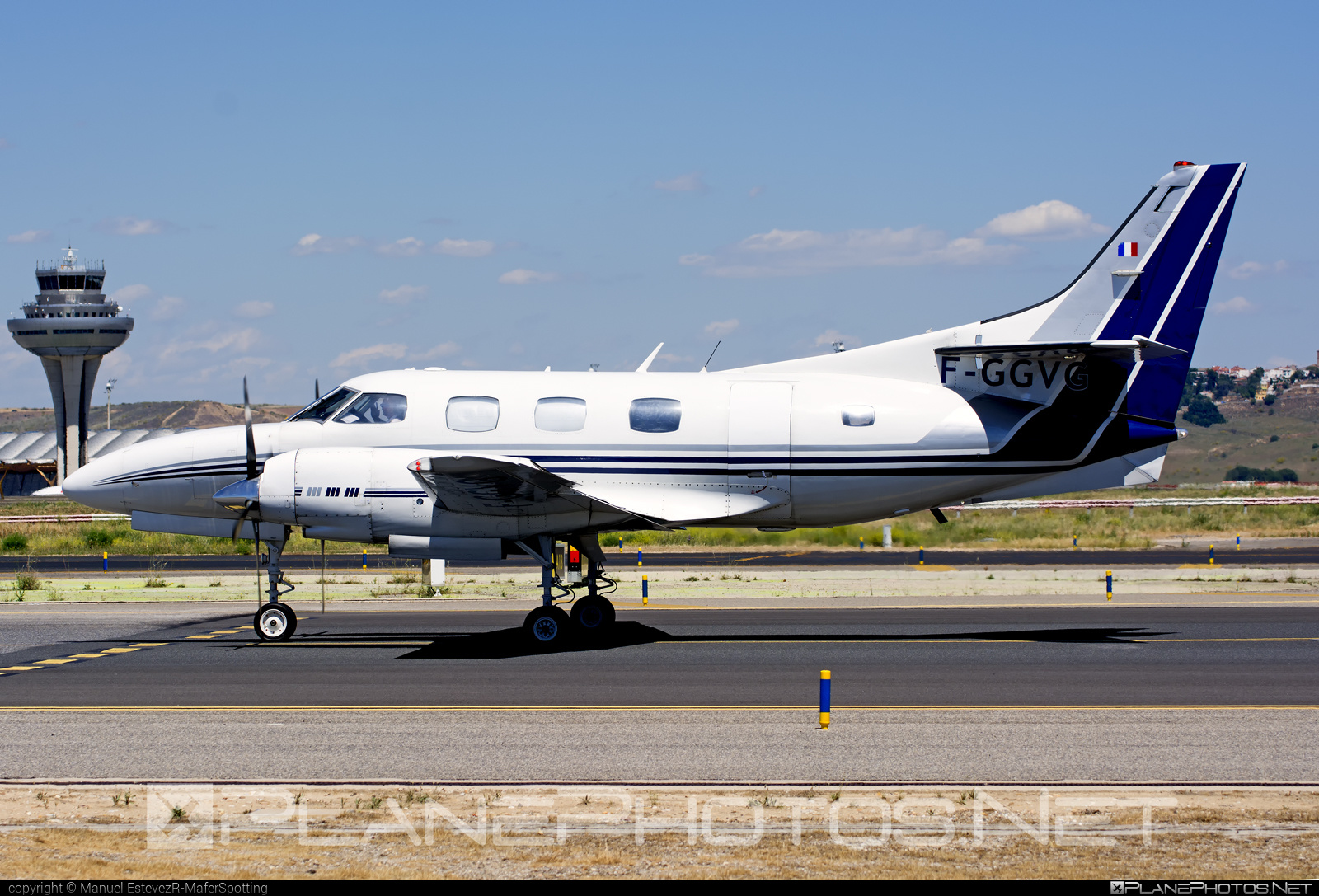 Swearingen SA226-T(B) Merlin IIIB - F-GGVG operated by Airlec Air Espace #swearingen