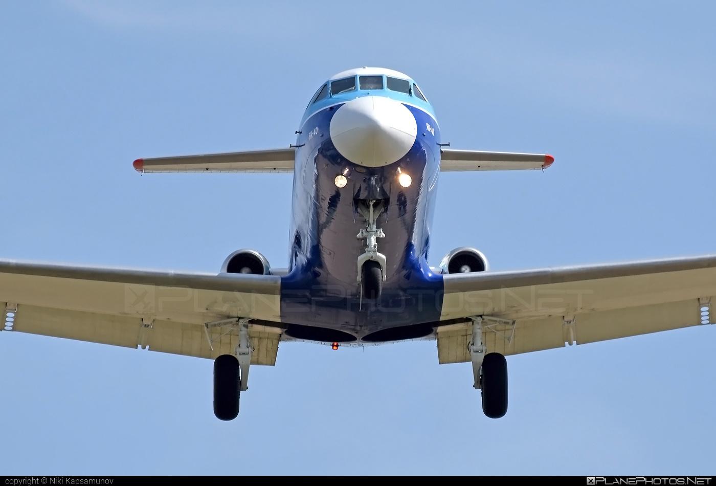 Yakovlev Yak-40 - EW-464PS operated by Orsha Air #yak #yak40 #yakovlev