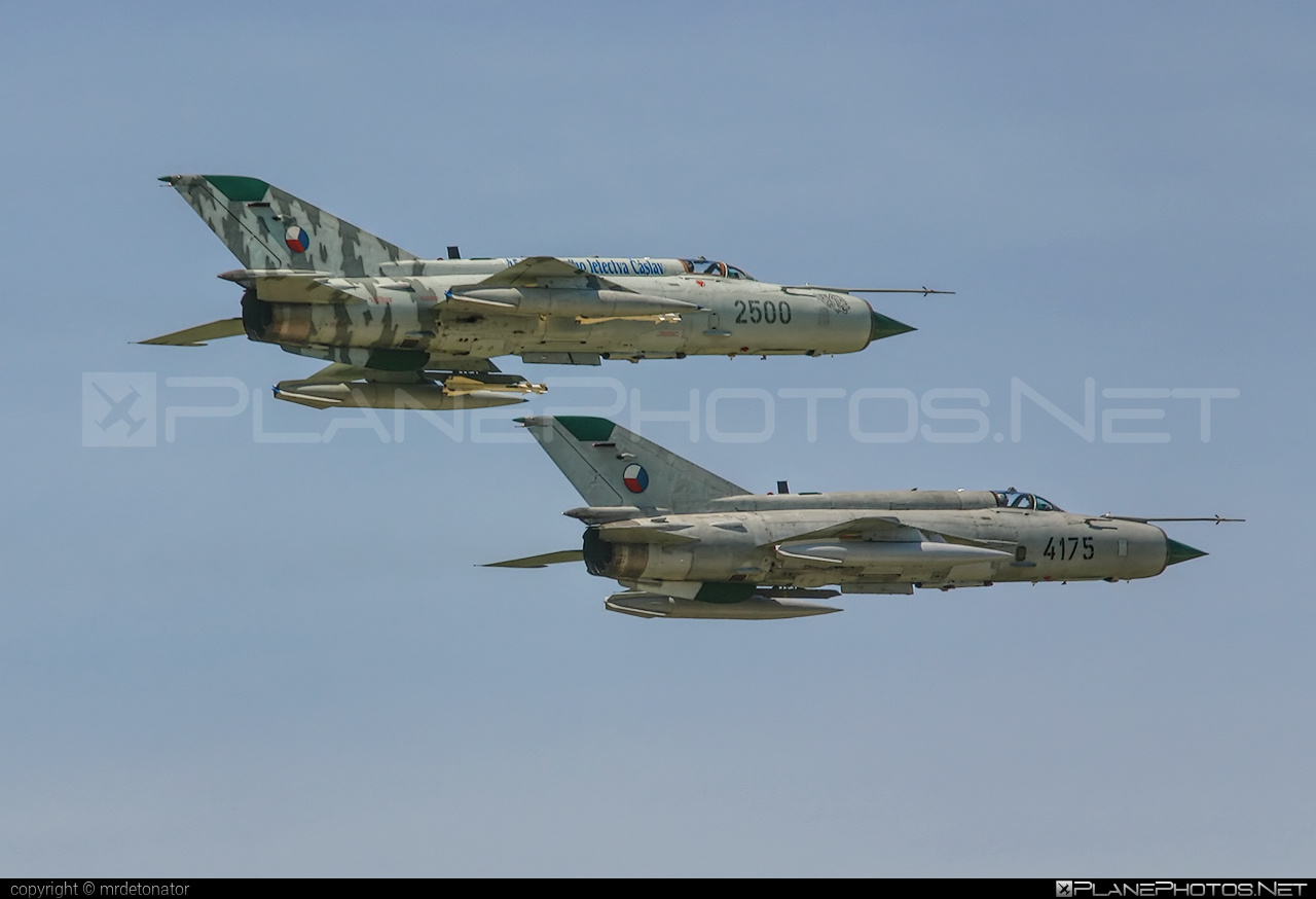 Mikoyan-Gurevich MiG-21MFN - 2500 operated by Vzdušné síly AČR (Czech Air Force) #czechairforce #mig #mig21 #mig21mfn #mikoyangurevich #vzdusnesilyacr