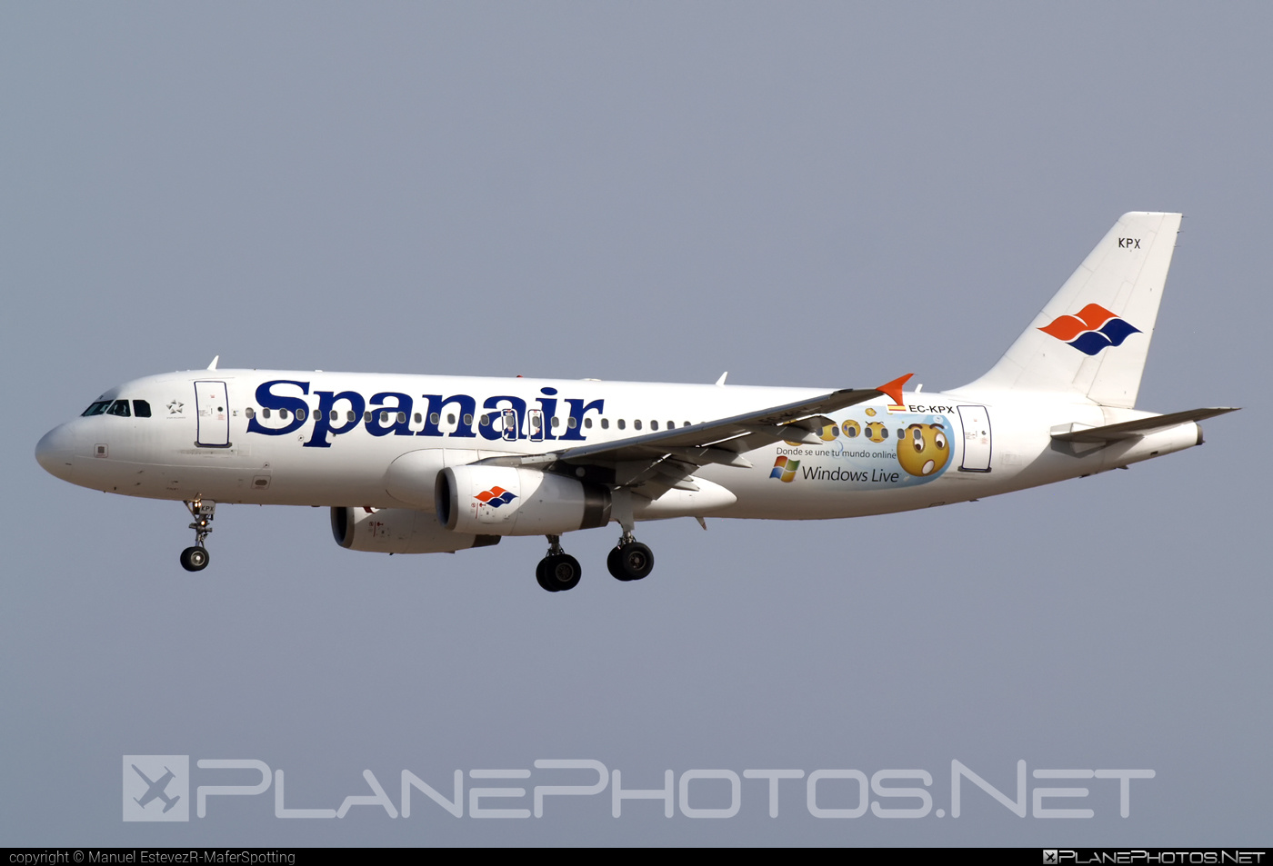 Airbus A320-232 - EC-KPX operated by Spanair #a320 #a320family #airbus #airbus320