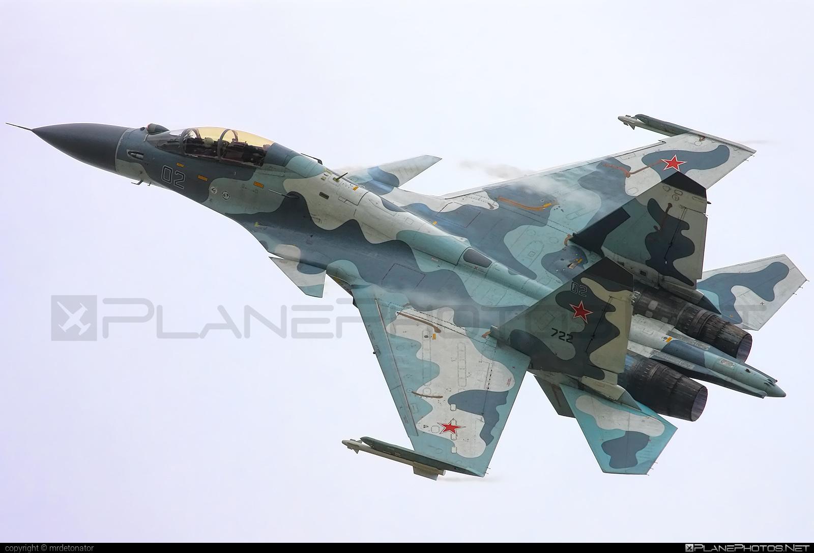 Sukhoi SU-30MK - 02 operated by Sukhoi Design Bureau #maks2009 #sukhoi
