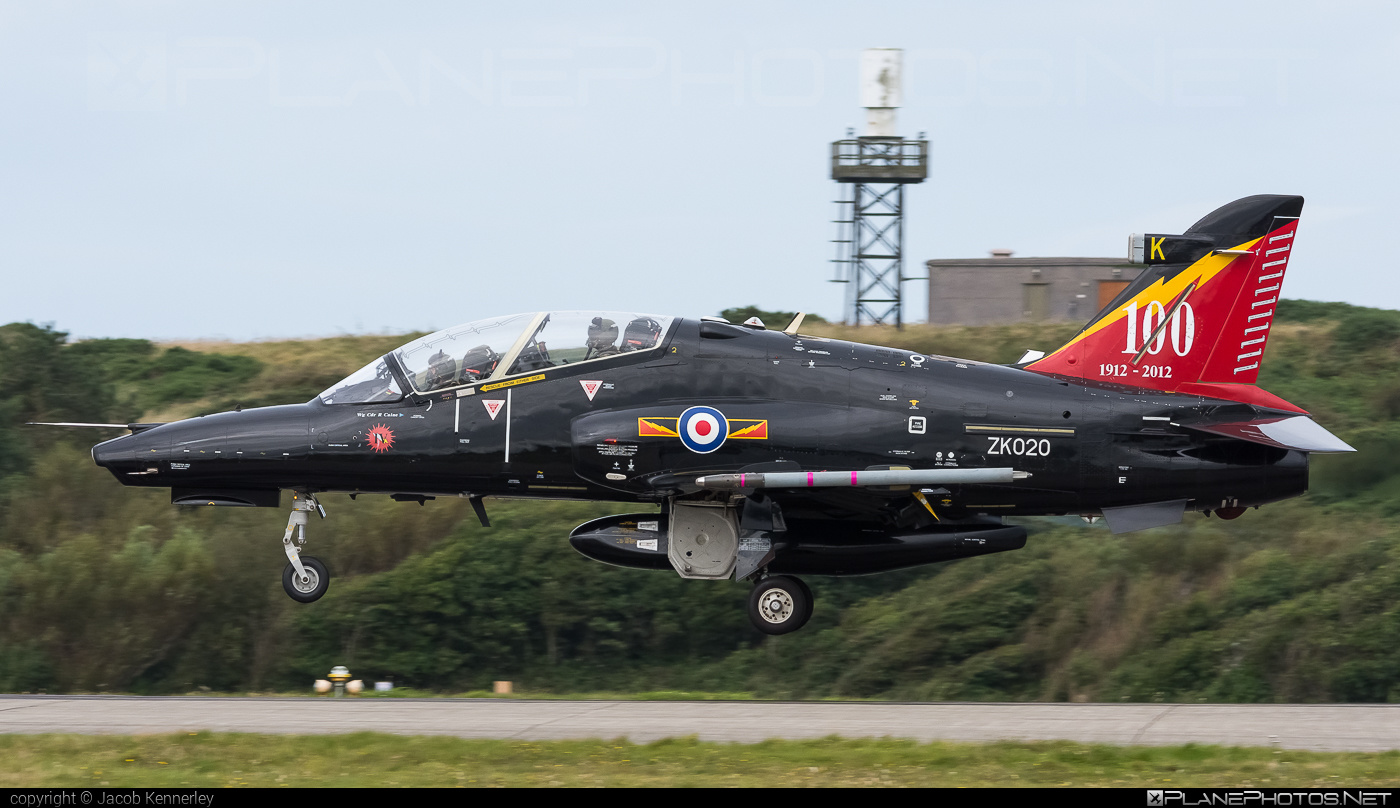 British Aerospace Hawk T2 - ZK020 operated by Royal Air Force (RAF) #britishaerospace #raf #royalairforce