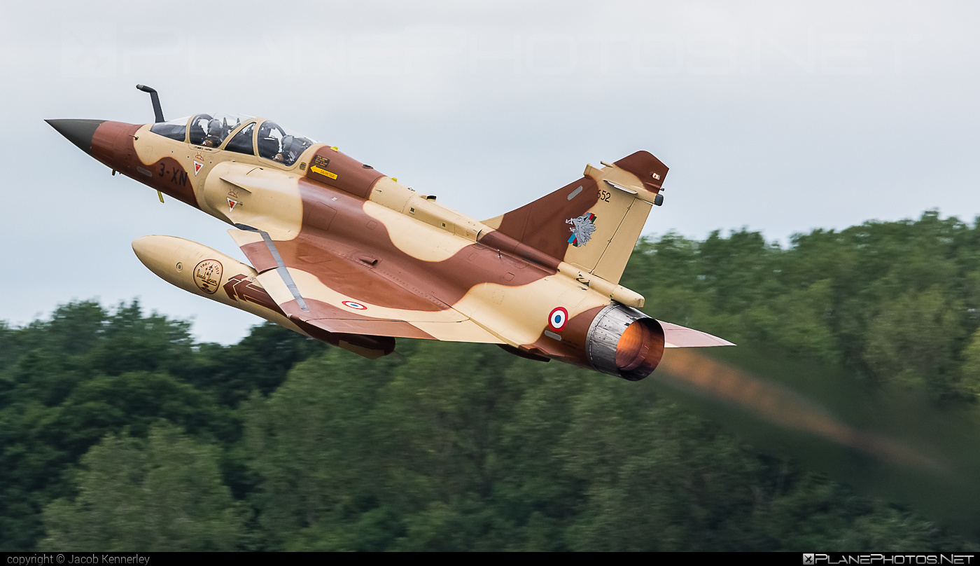 Dassault Mirage 2000D - 652 operated by Armée de l´Air (French Air Force) #armeedelair #dassault #frenchairforce