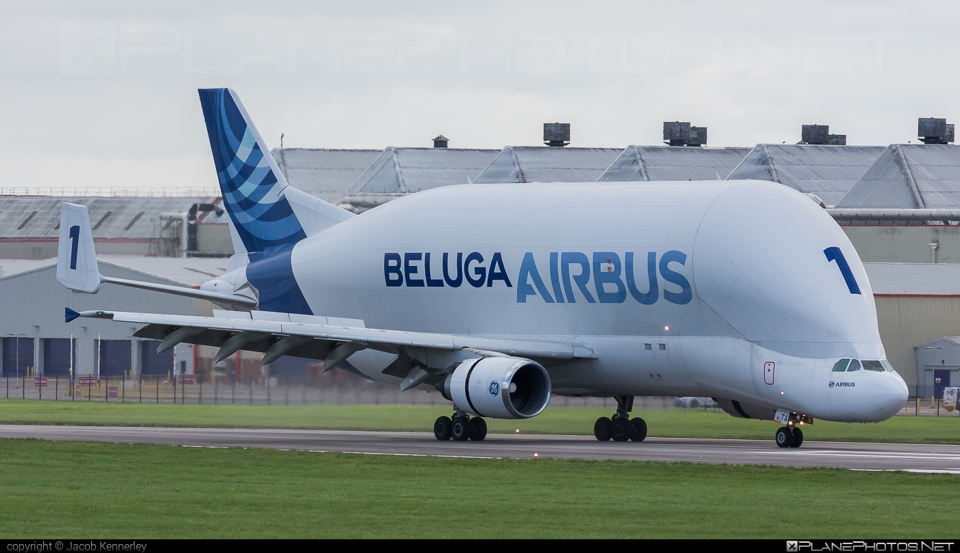 Airbus A300F4-608ST Beluga - F-GSTA operated by Airbus Transport International #a300 #airbus #airbusbeluga #beluga