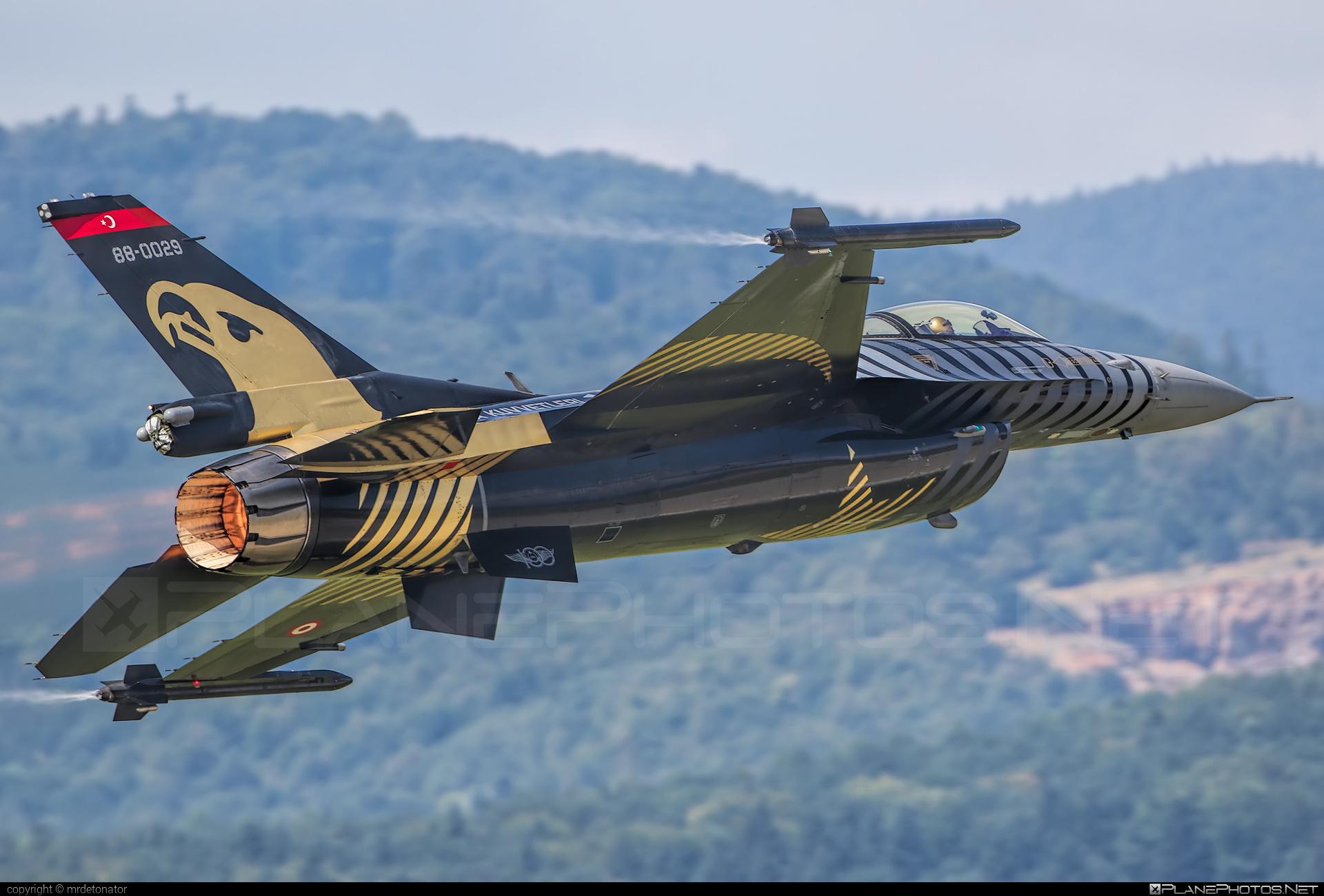 TAI F-16C Fighting Falcon - 88-0029 operated by Türk Hava Kuvvetleri (Turkish Air Force) #f16 #f16c #fightingfalcon #turkishairforce