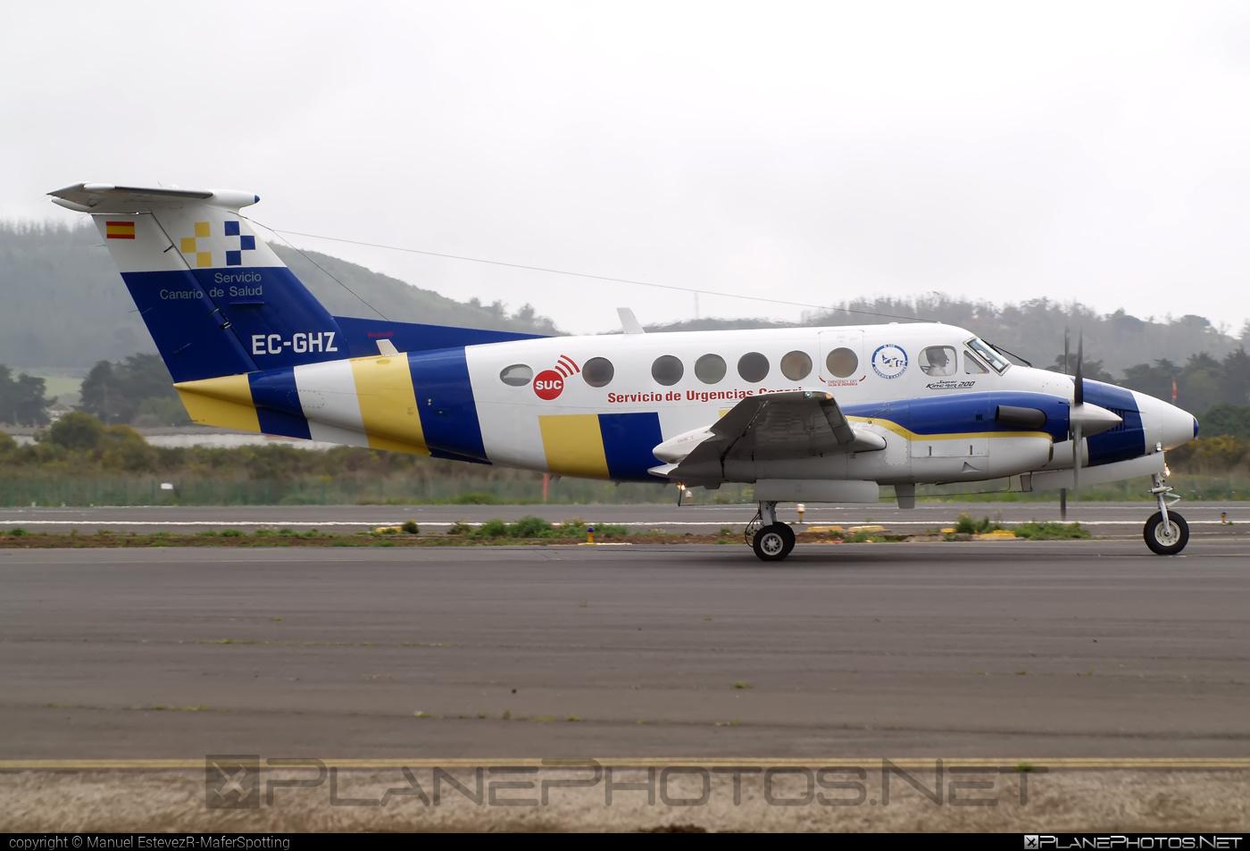Beechcraft B200 King Air - EC-GHZ operated by Urgemer Canarias #beechcraft