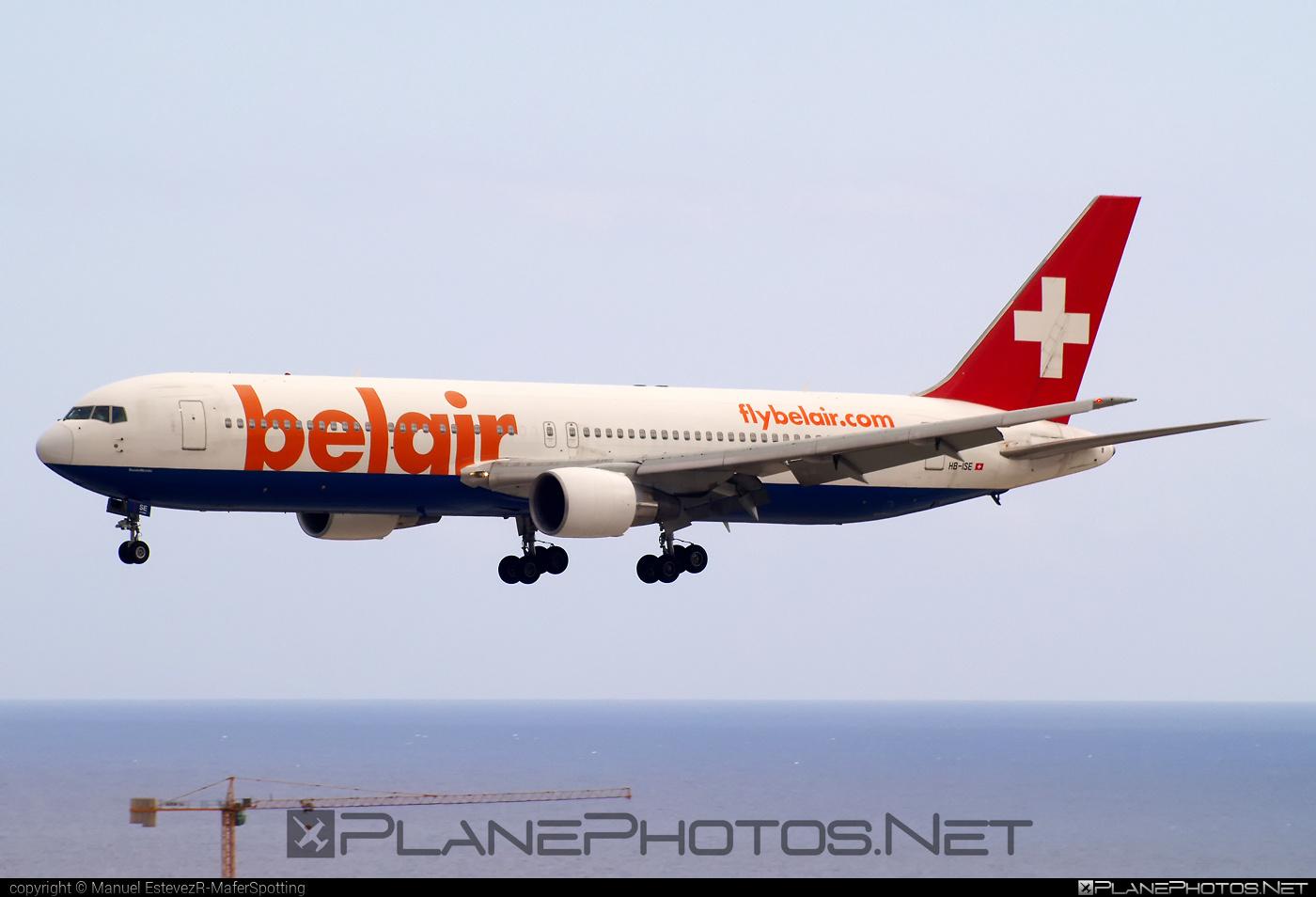 Belair Airlines Boeing 767-300ER - HB-ISE #b767 #b767er #boeing #boeing767
