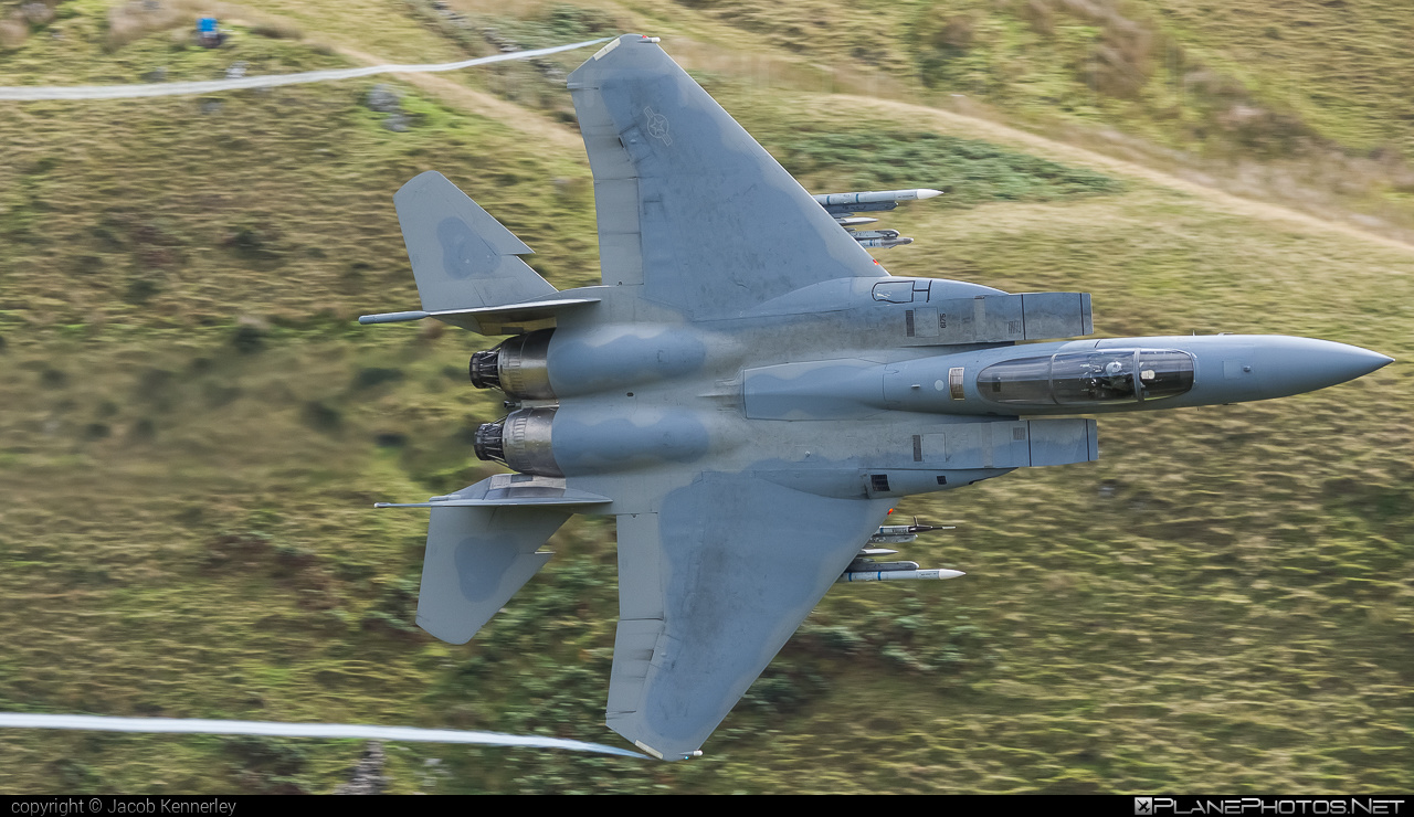 McDonnell Douglas F-15C Eagle - 86-0175 operated by US Air Force (USAF) #machloop #mcdonnelldouglas #usaf #usairforce