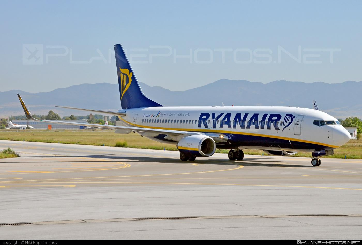 Boeing 737-800 - EI-ENV operated by Ryanair #b737 #b737nextgen #b737ng #boeing #boeing737 #ryanair