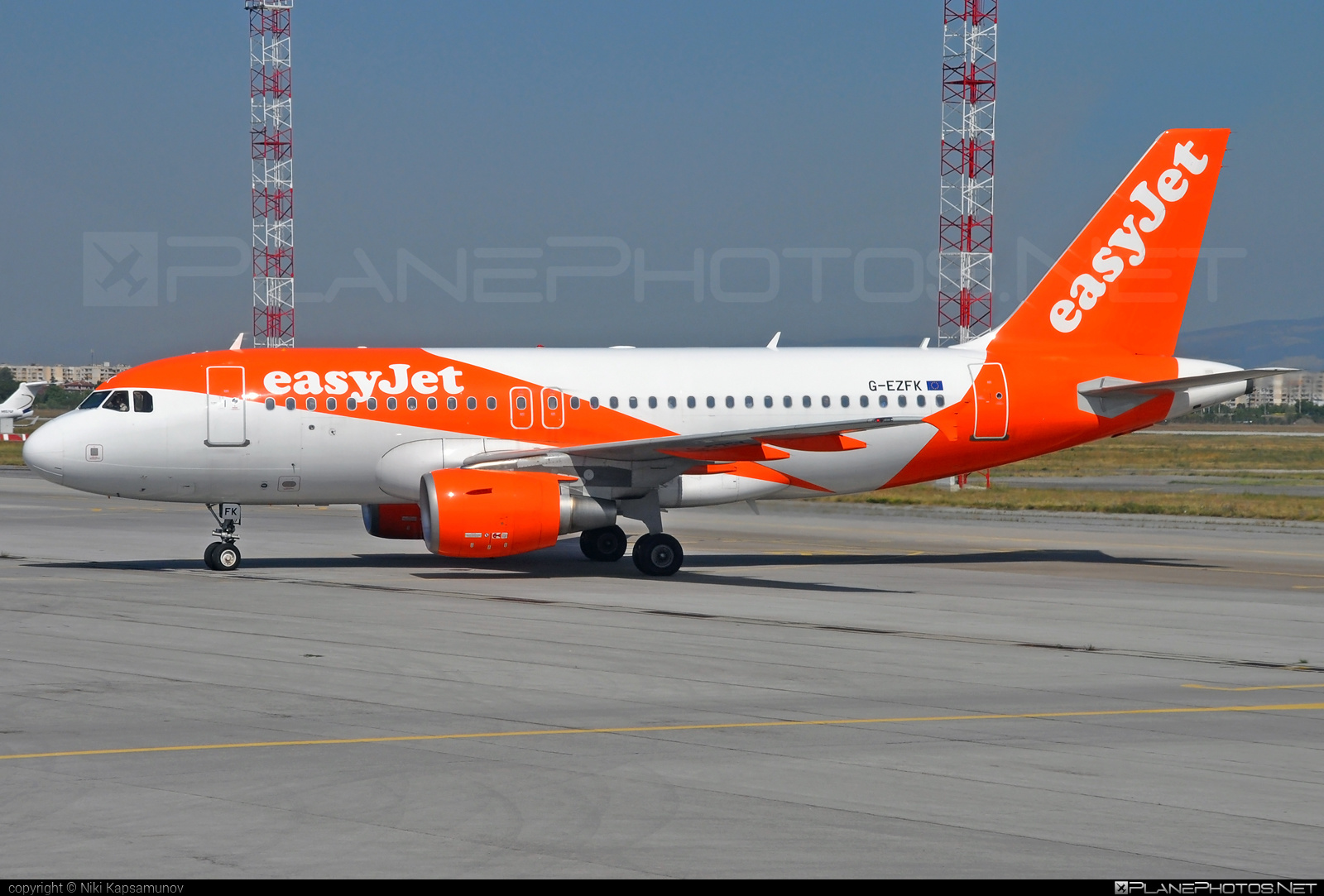 Airbus A319-111 - G-EZFK operated by easyJet #a319 #a320family #airbus #airbus319 #easyjet