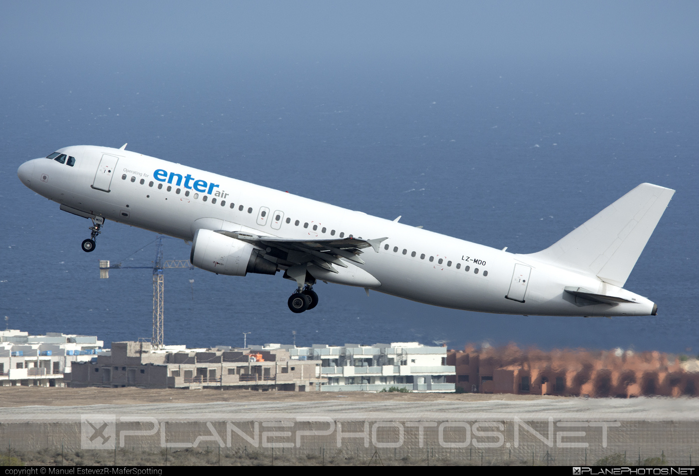 Airbus A320-214 - LZ-MDO operated by Enter Air #a320 #a320family #airbus #airbus320