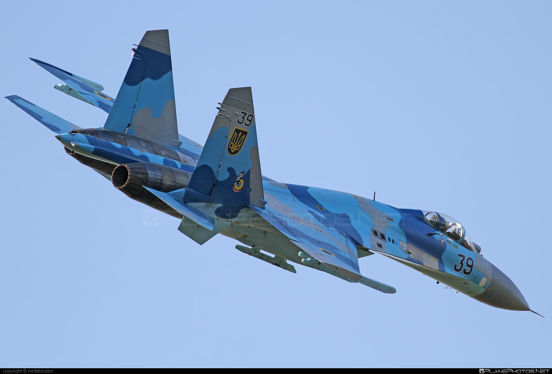 Sukhoi Su-27P - 39 operated by Povitryani Syly Ukrayiny (Ukrainian Air Force) #povitryanisylyukrayiny #radomairshow #radomairshow2013 #su27 #su27p #sukhoi #sukhoi27 #ukrainianairforce