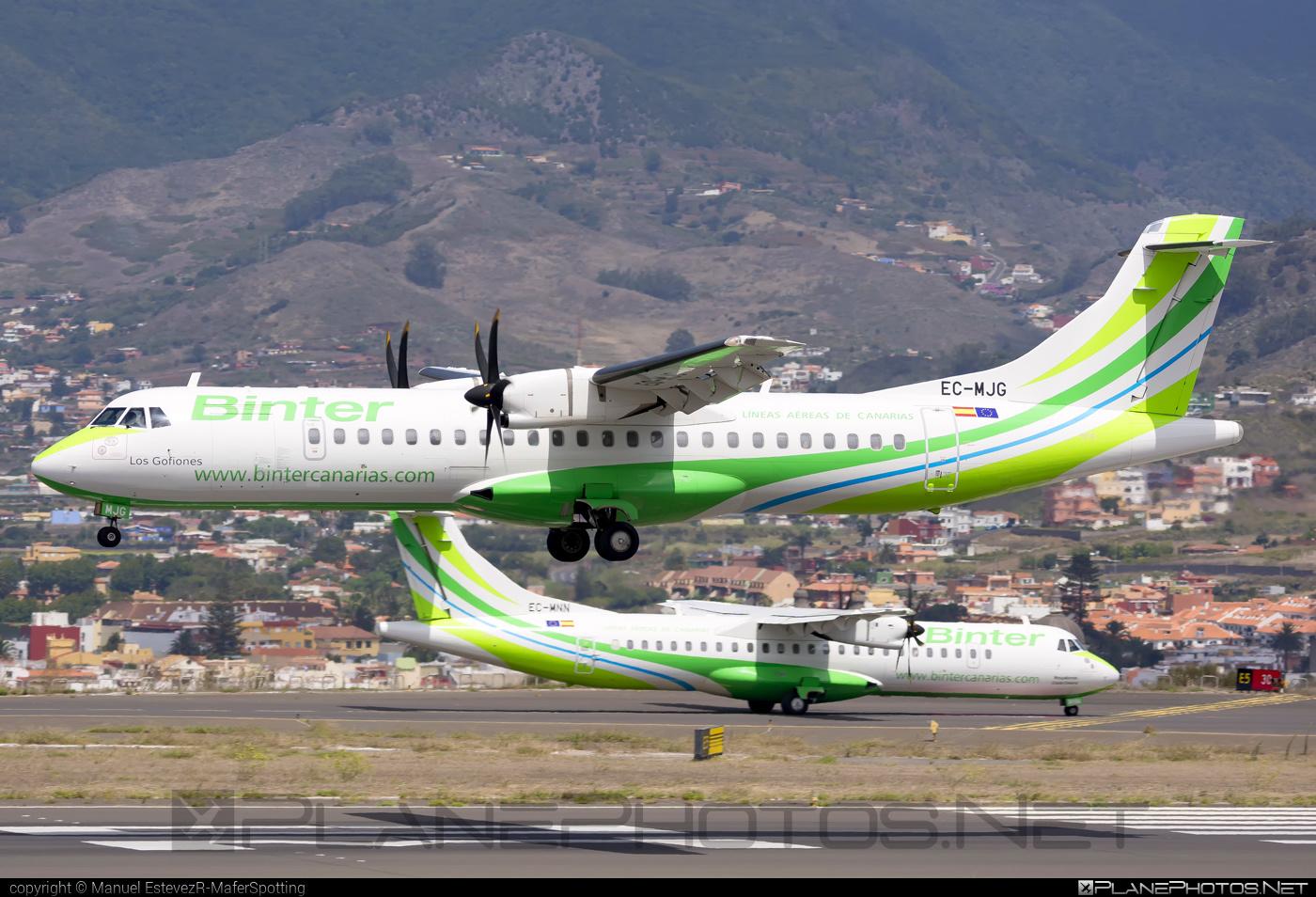 ATR 72-600 - EC-MJG operated by Binter Canarias #atr