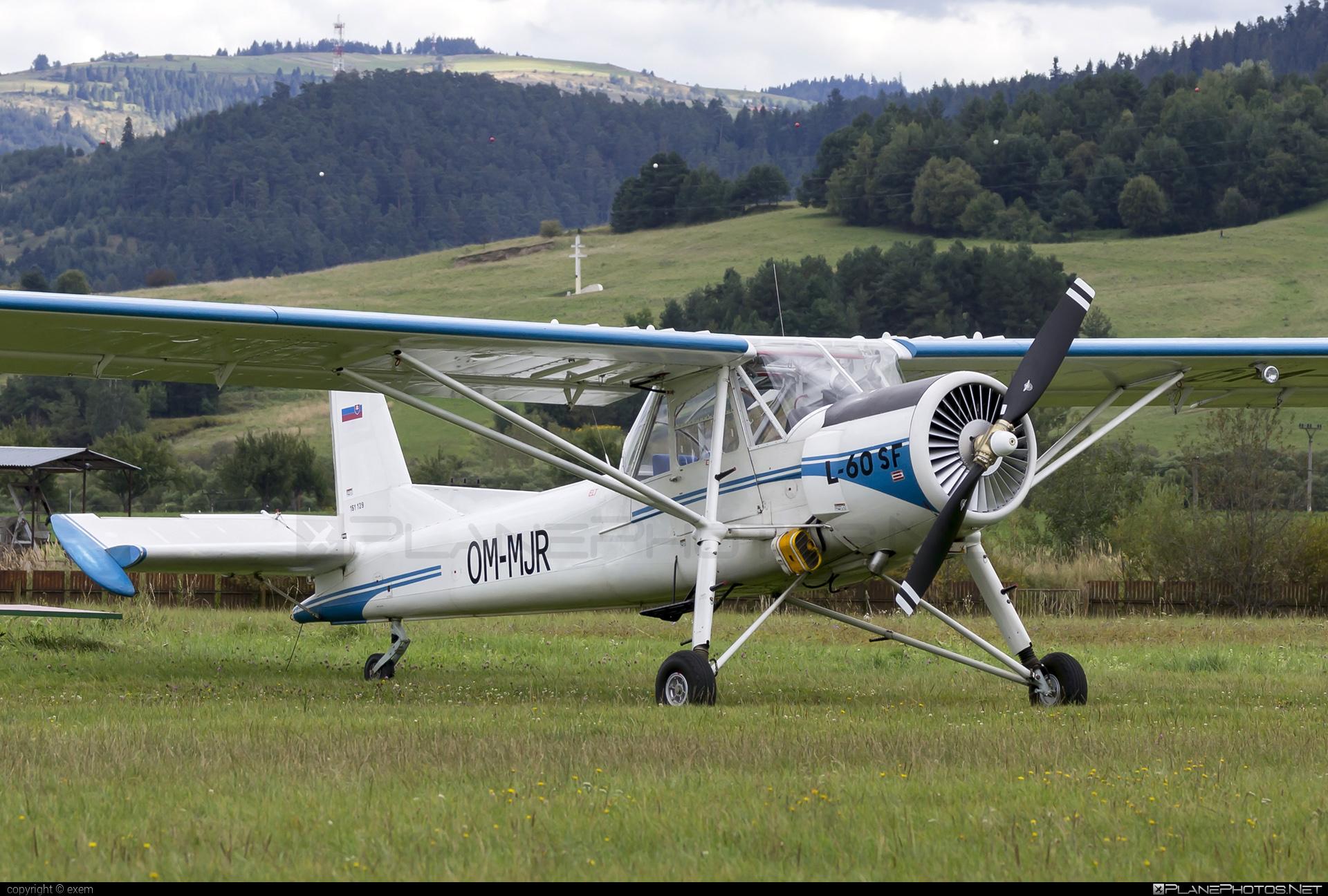 Aero L-60SF Brigadýr - OM-MJR operated by Service Creativ s.r.o. #aero