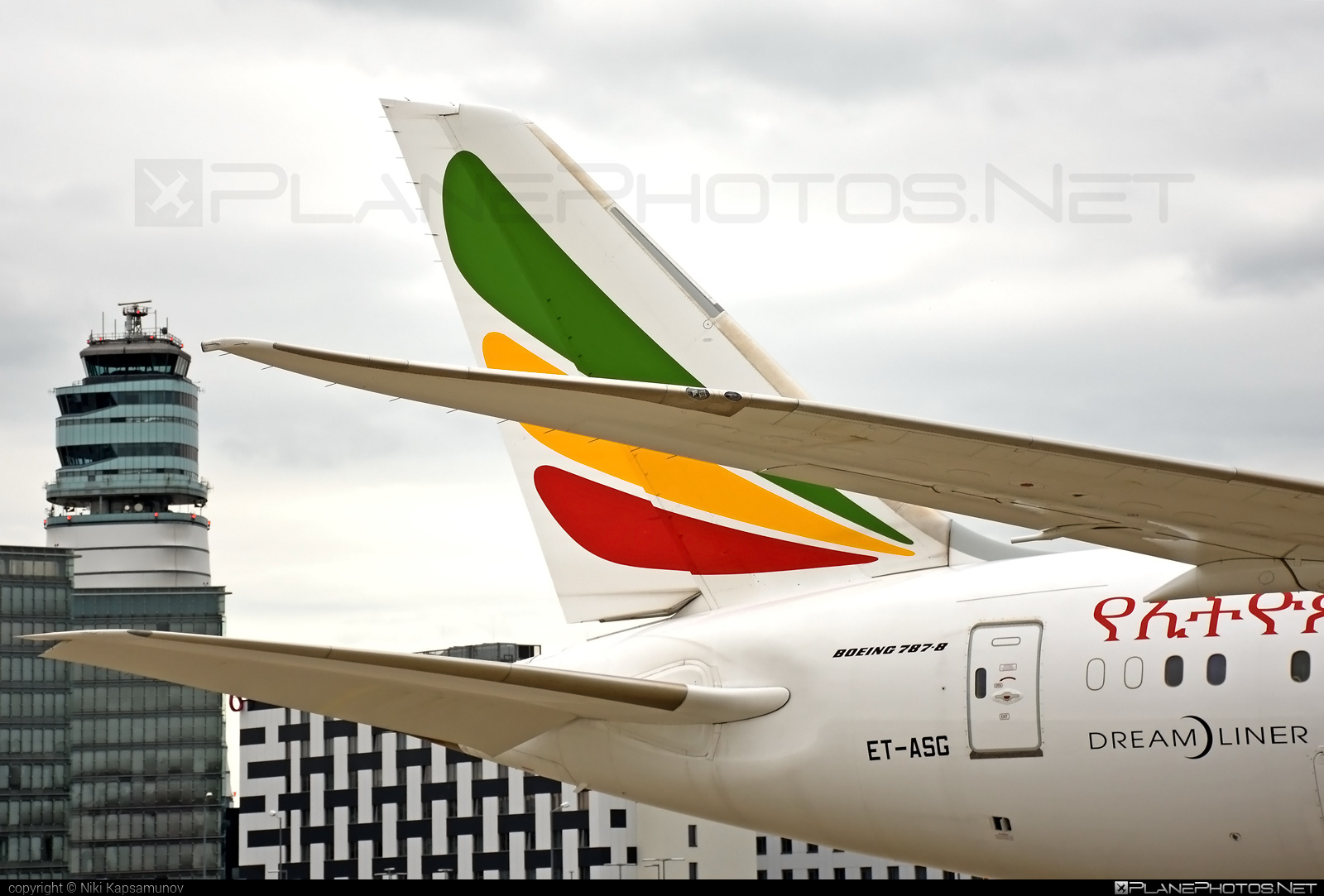 Boeing 787-8 Dreamliner - ET-ASG operated by Ethiopian Airlines #b787 #boeing #boeing787 #dreamliner #ethiopianairlines