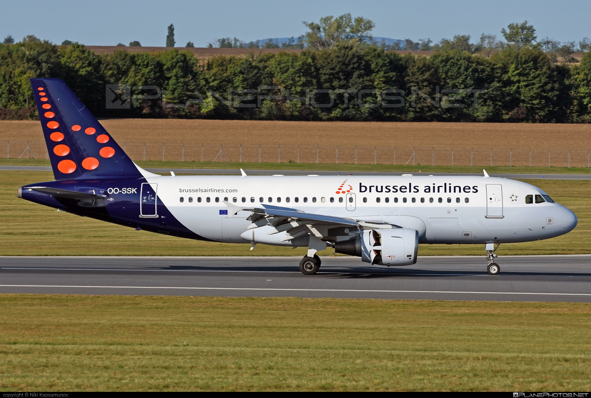 Airbus A319-112 - OO-SSK operated by Brussels Airlines #a319 #a320family #airbus #airbus319 #brusselsairlines