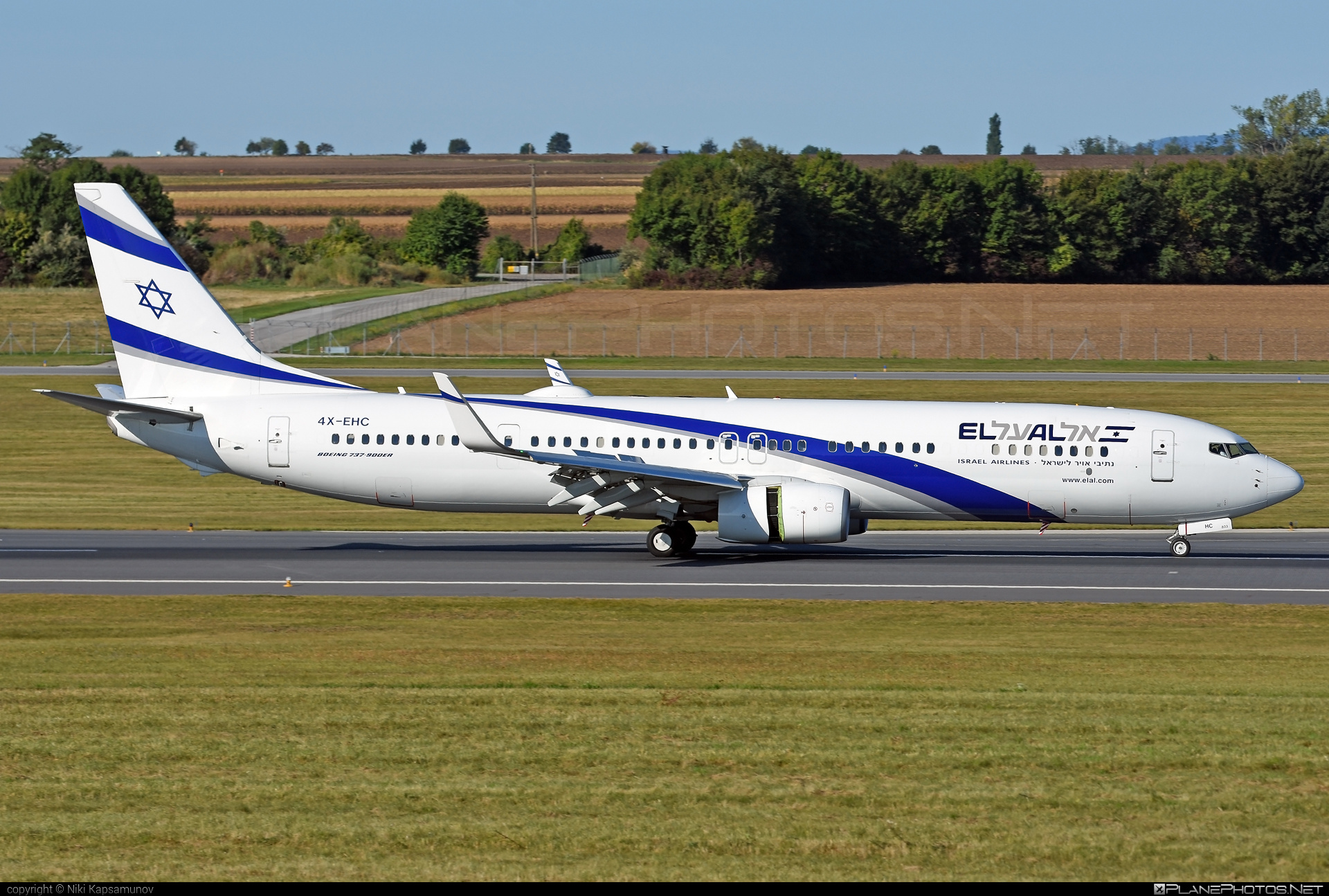 Boeing 737-900ER - 4X-EHC operated by El Al Israel Airlines #b737 #b737er #b737nextgen #b737ng #boeing #boeing737 #elal #elalisraelairlines #israelairlines