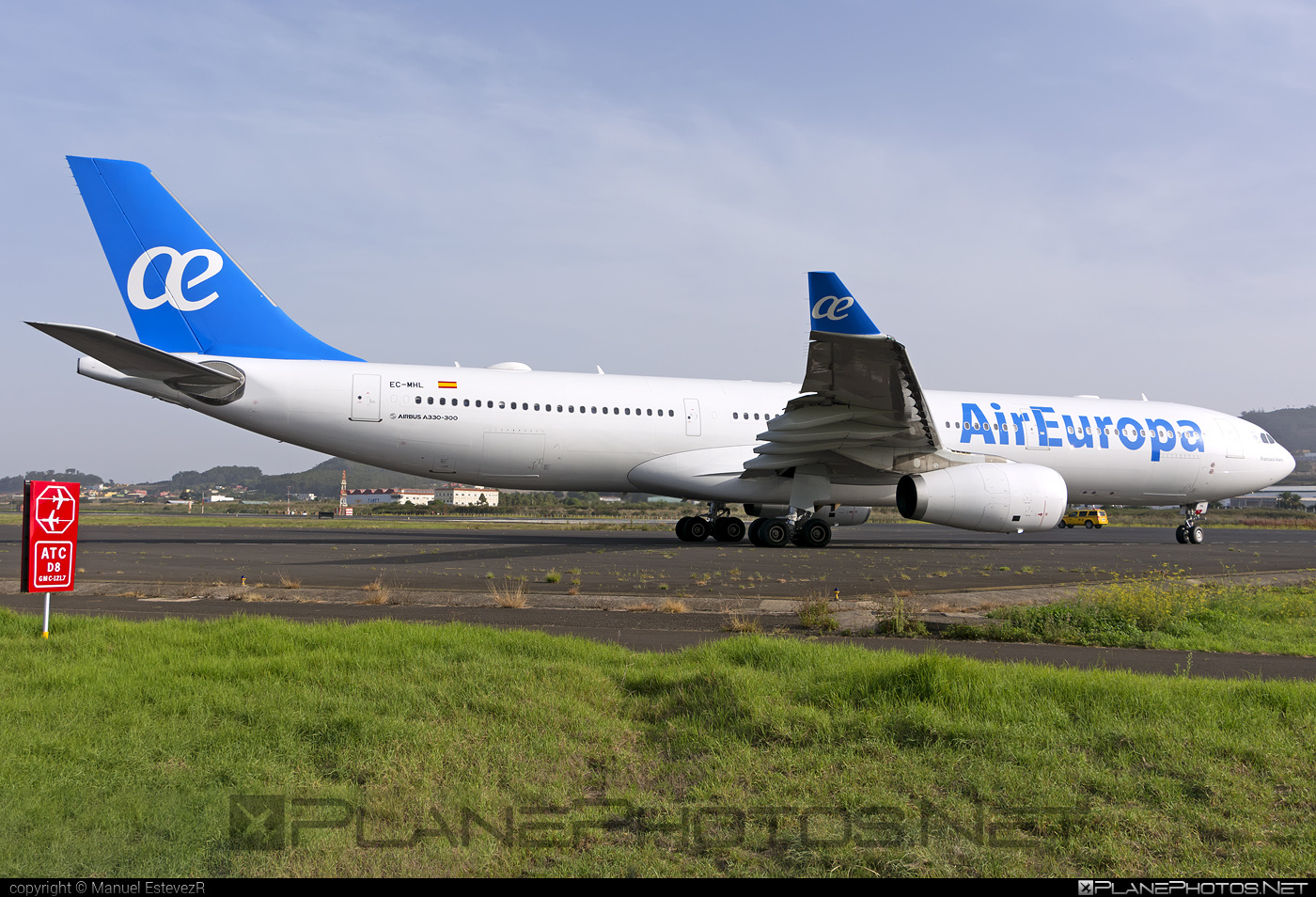Airbus A330-343 - EC-MHL operated by Air Europa #a330 #a330family #airbus #airbus330