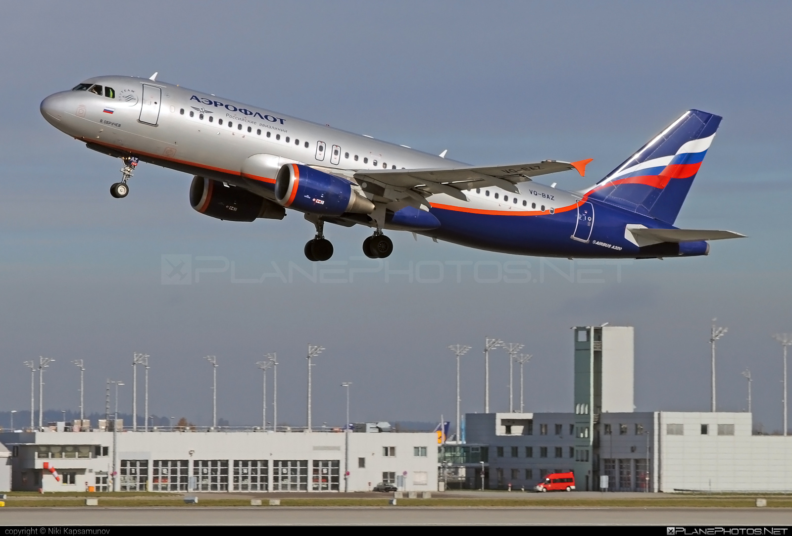 Airbus A320-214 - VQ-BAZ operated by Aeroflot #a320 #a320family #aeroflot #airbus #airbus320