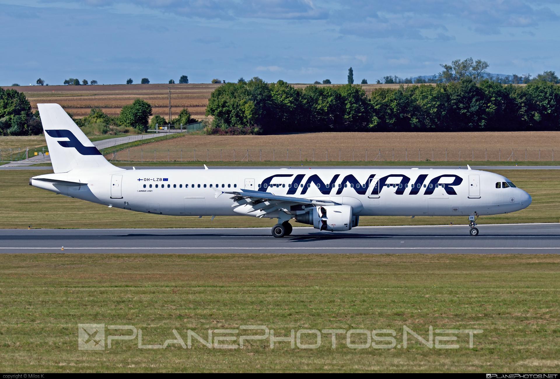 Airbus A321-211 - OH-LZB operated by Finnair #a320family #a321 #airbus #airbus321 #finnair