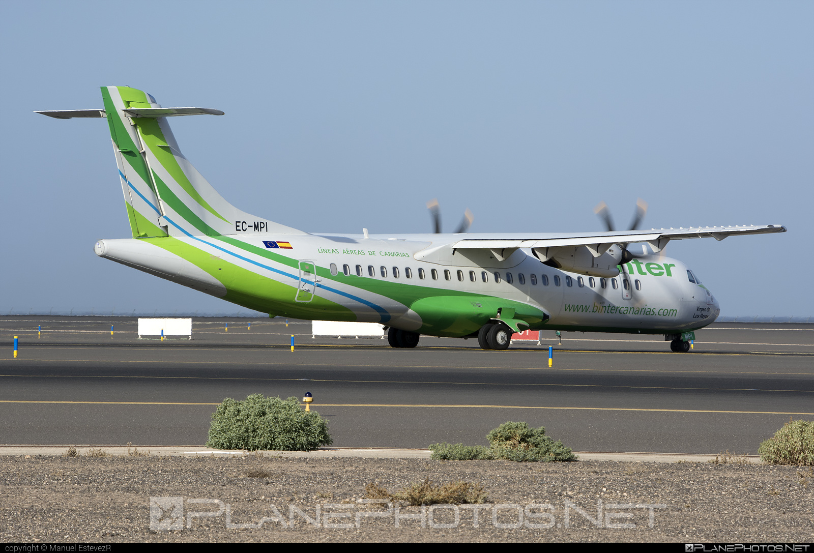 ATR 72-600 - EC-MPI operated by Binter Canarias #atr