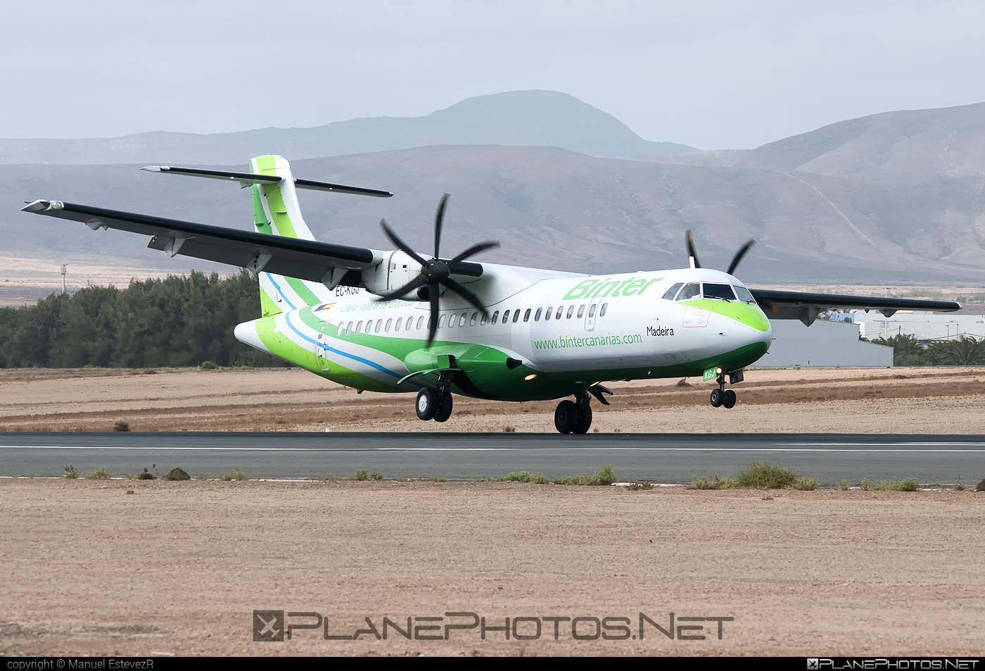 ATR 72-212A - EC-KGJ operated by Binter Canarias #atr