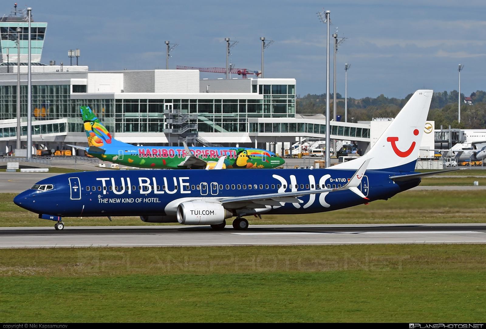 TUIfly Boeing 737-800 - D-ATUD #b737 #boeing