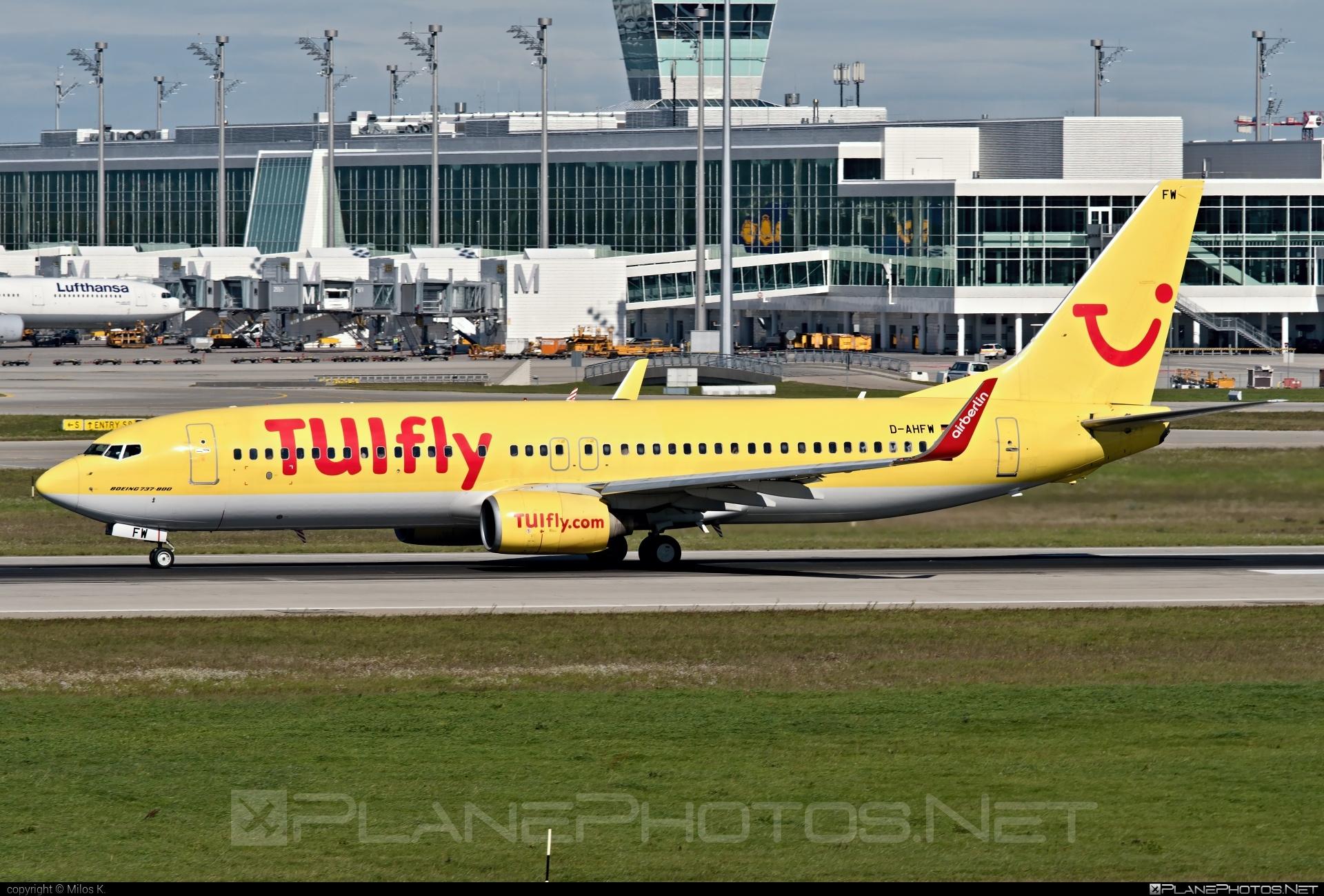 TUIfly Boeing 737-800 - D-AHFW #b737 #boeing