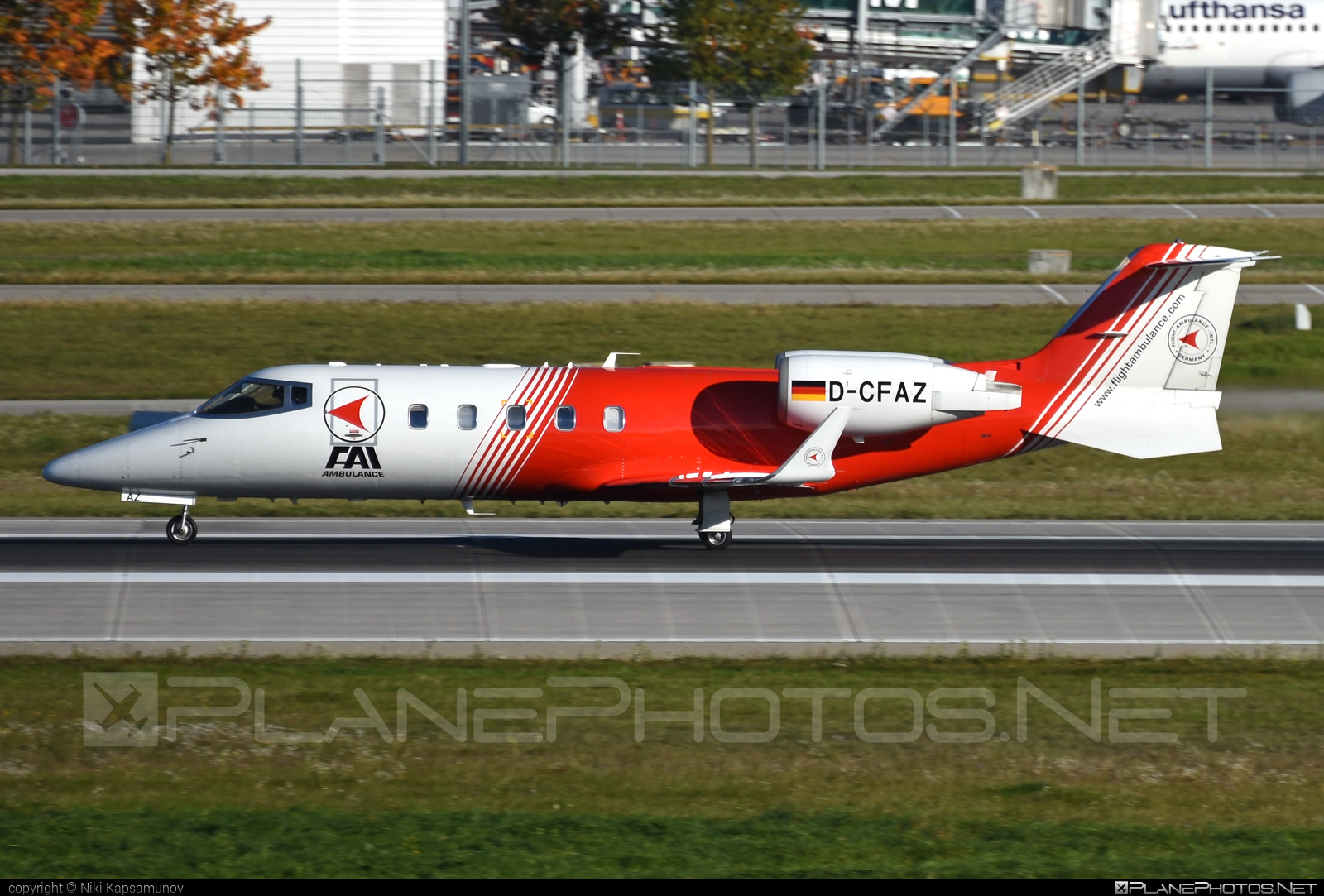 Bombardier Learjet 60 - D-CFAZ operated by FAI Ambulance #bombardier #learjet #learjet60