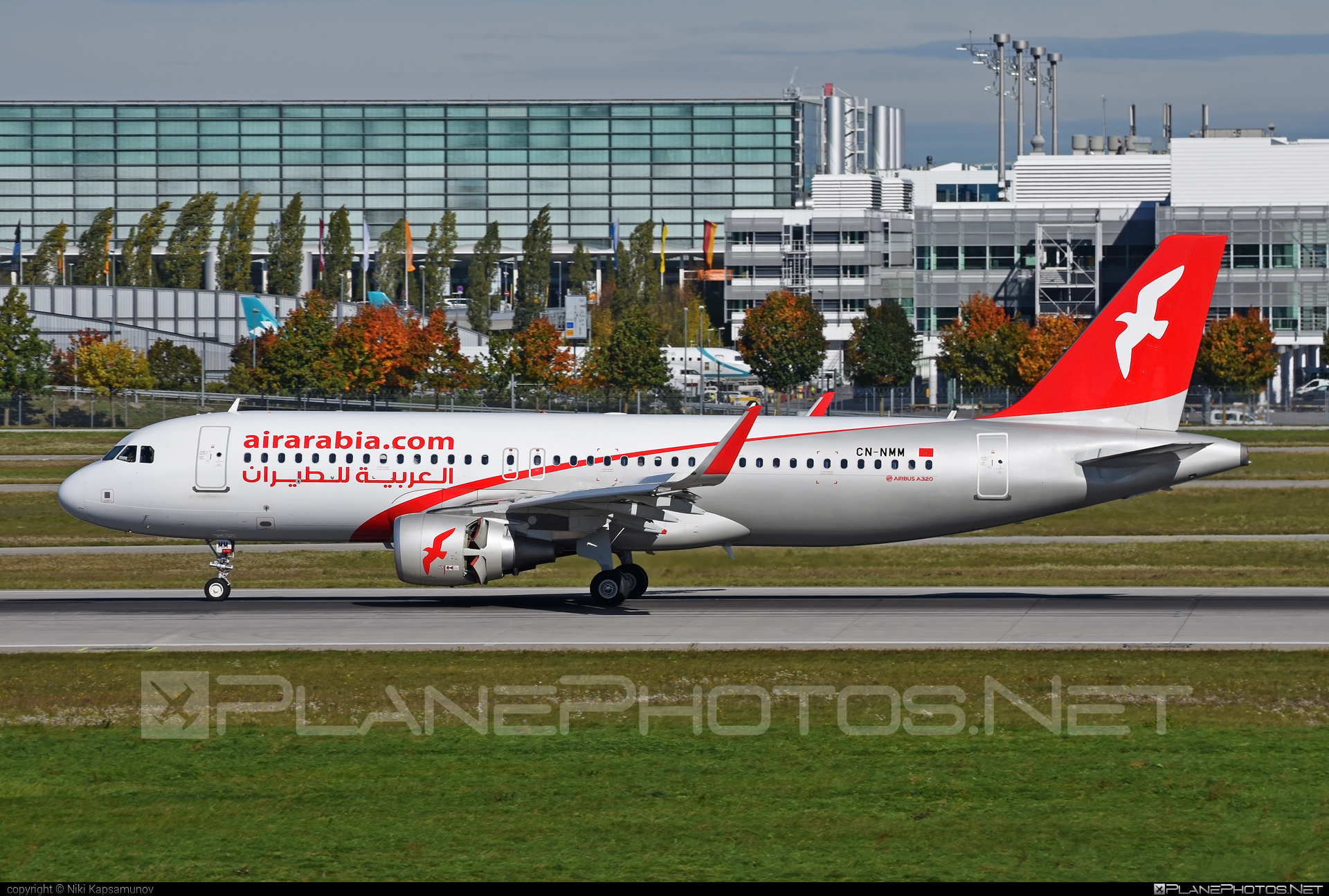 Airbus A320-214 - CN-NMM operated by Air Arabia Maroc #a320 #a320family #airarabia #airarabiamaroc #airbus #airbus320