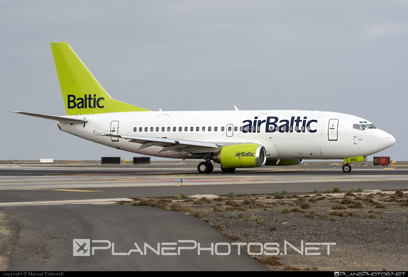 Air Baltic Boeing 737-500 - YL-BBQ #airbaltic #b737 #boeing