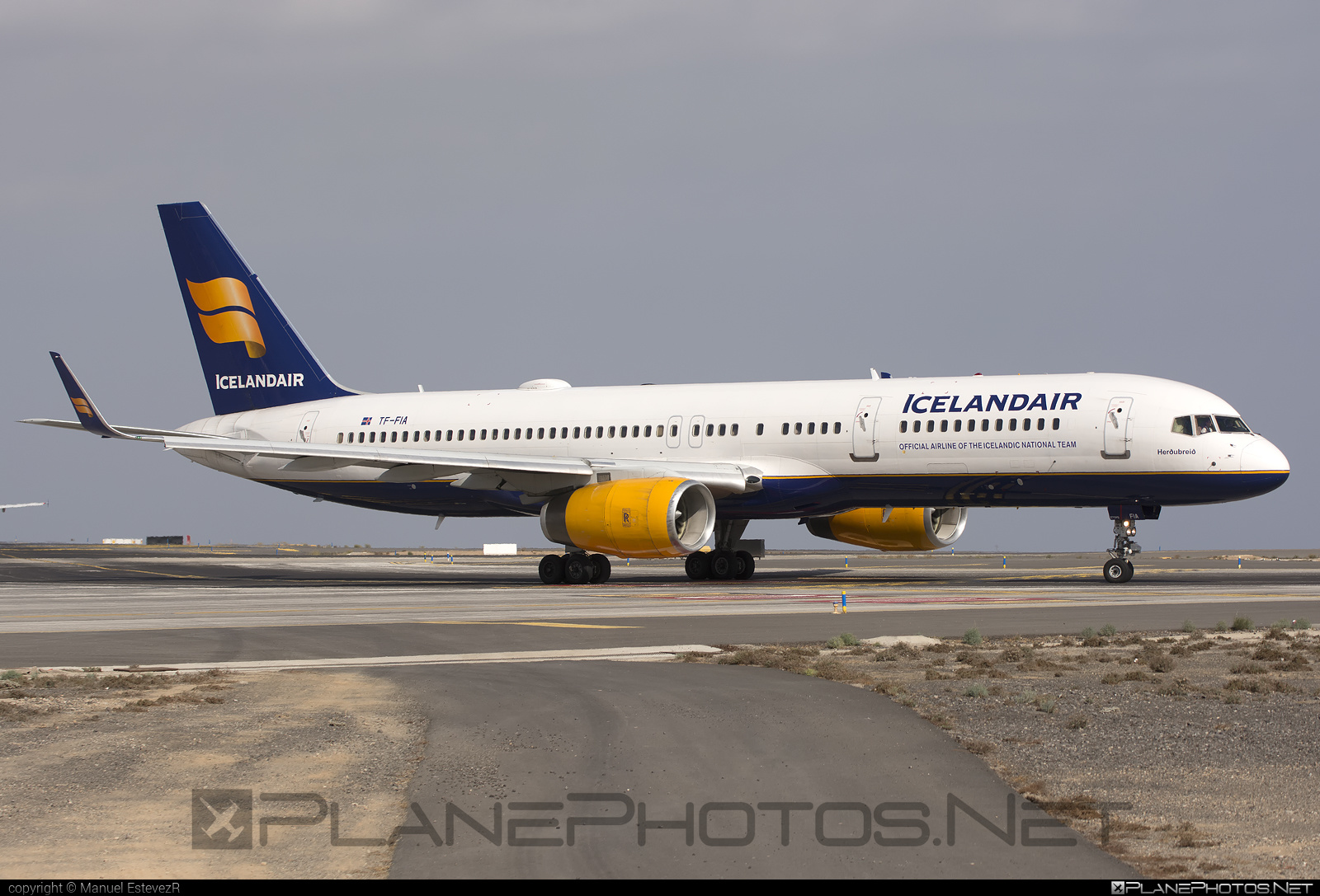 Boeing 757-200 - TF-FIA operated by Icelandair #b757 #boeing #boeing757 #icelandair
