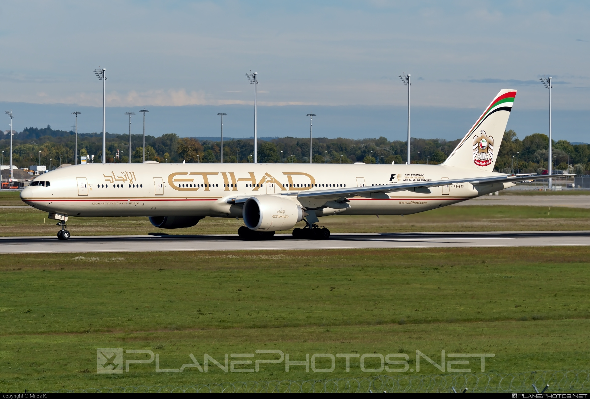Boeing 777-300ER - A6-ETS operated by Etihad Airways #b777 #b777er #boeing #boeing777 #etihad #etihadairways #tripleseven