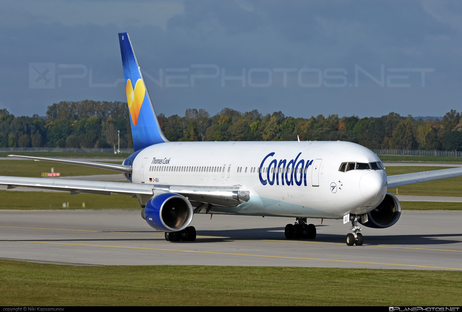 Boeing 767-300ER - D-ABUI operated by Condor #b767 #b767er #boeing #boeing767
