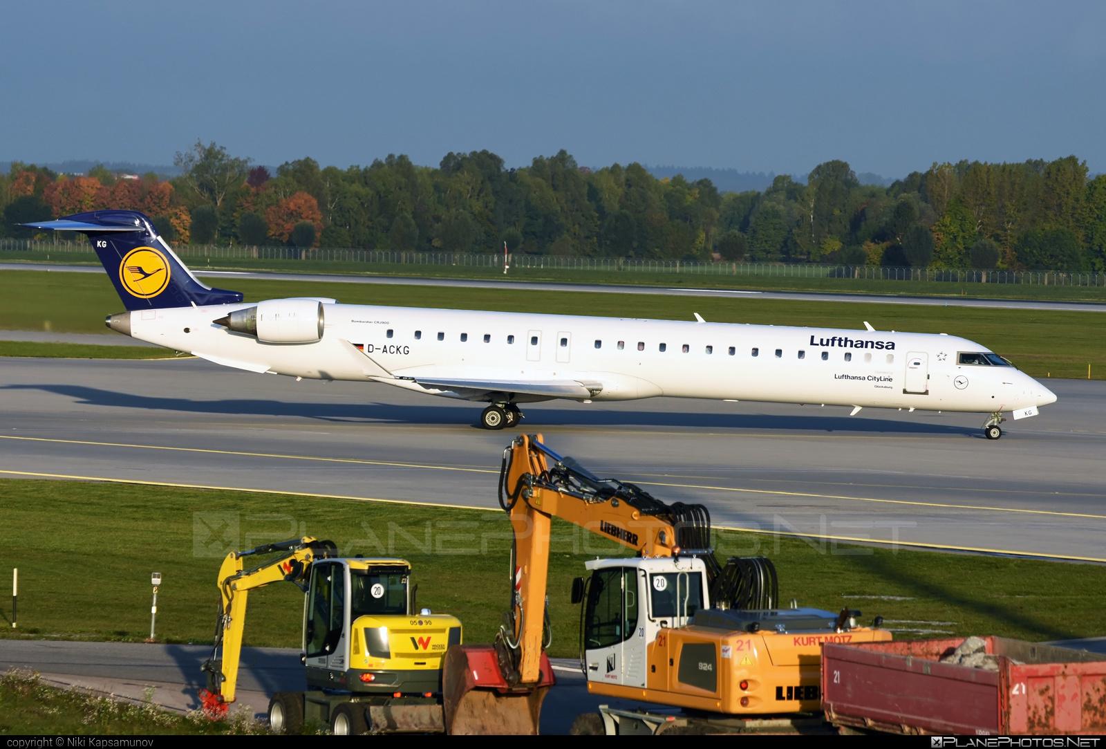 Bombardier CRJ900LR - D-ACKG operated by Lufthansa CityLine #bombardier #crj900 #crj900lr