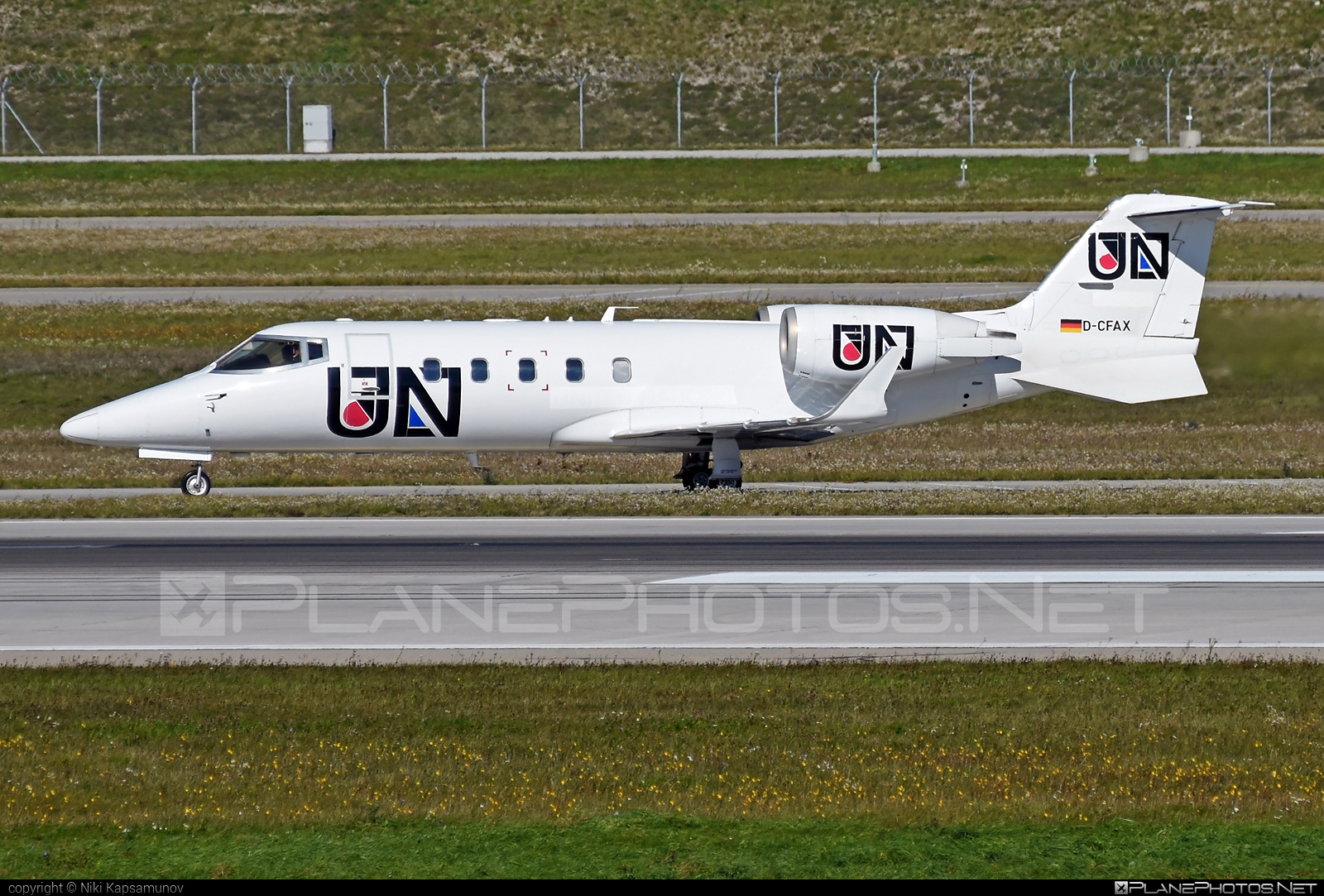 Bombardier Learjet 60 - D-CFAX operated by FAI Ambulance #bombardier #learjet #learjet60