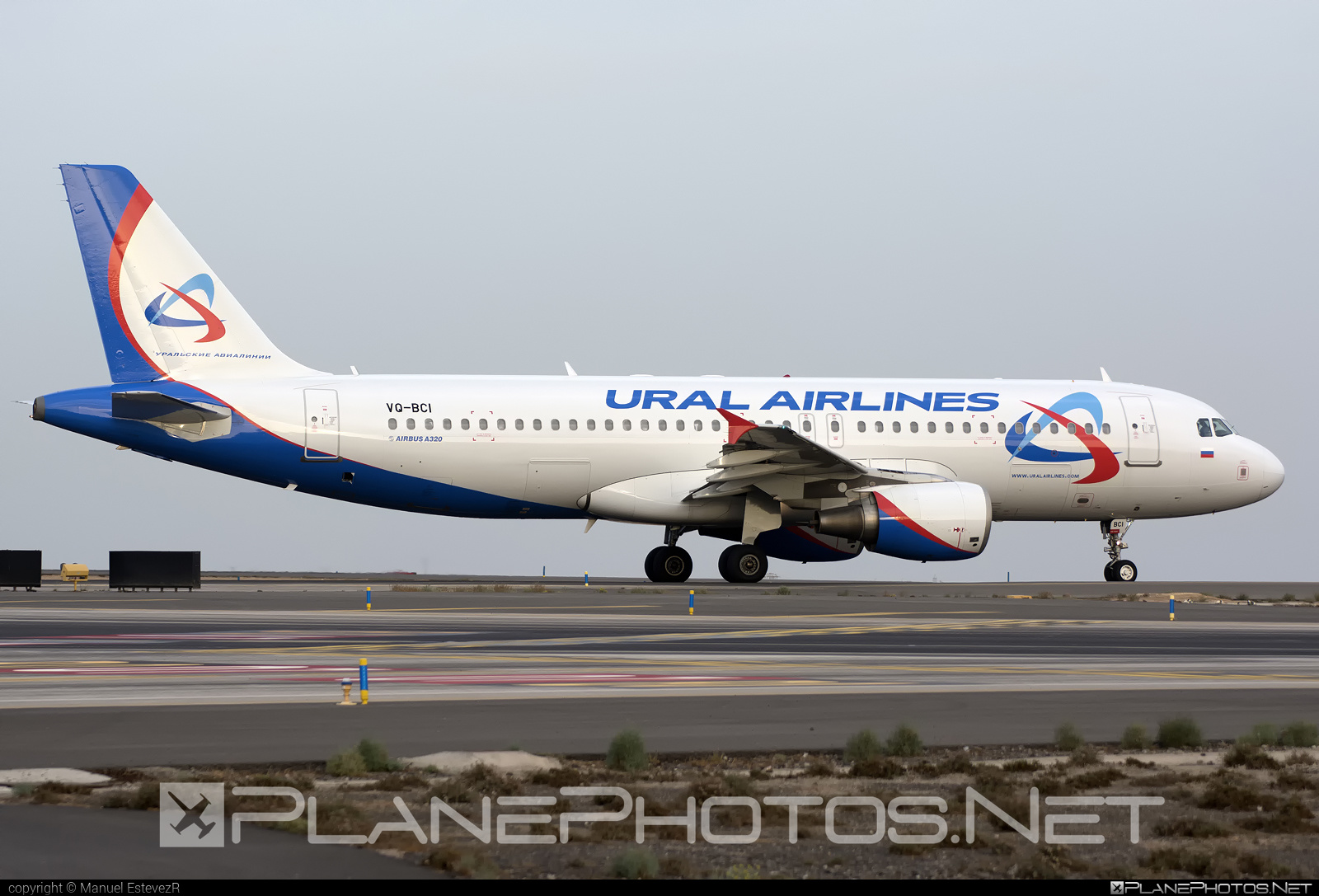 Airbus A320-214 - VQ-BCI operated by Ural Airlines #a320 #a320family #airbus #airbus320