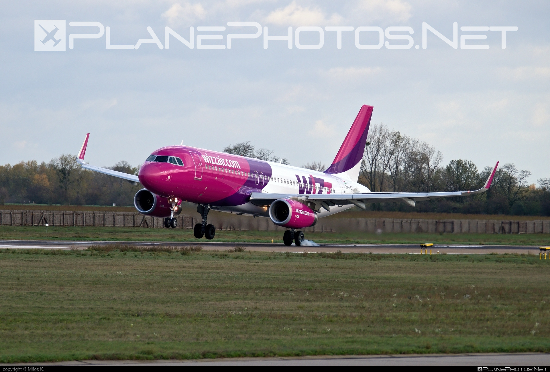 Airbus A320-232 - HA-LYJ operated by Wizz Air #a320 #a320family #airbus #airbus320 #wizz #wizzair