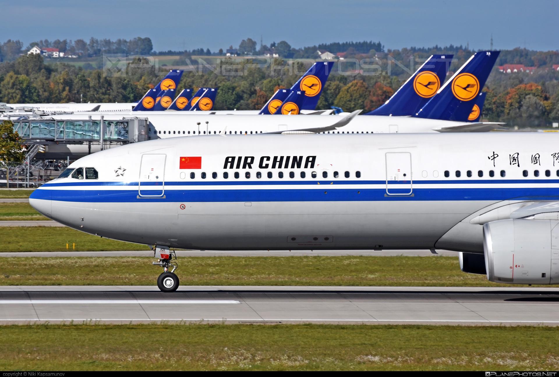 Airbus A330-343E - B-6101 operated by Air China #a330 #a330e #a330family #airbus #airbus330 #airchina